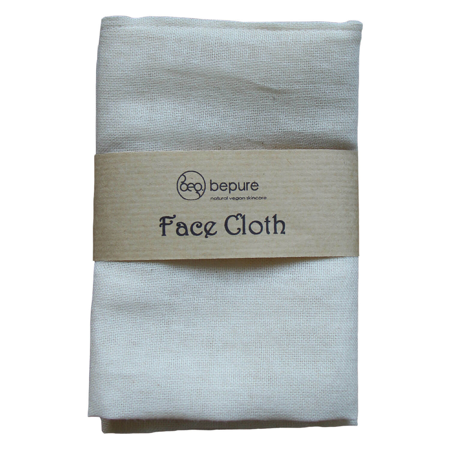 bepure - ORGANIC FACE CLOTH (2er Pack)