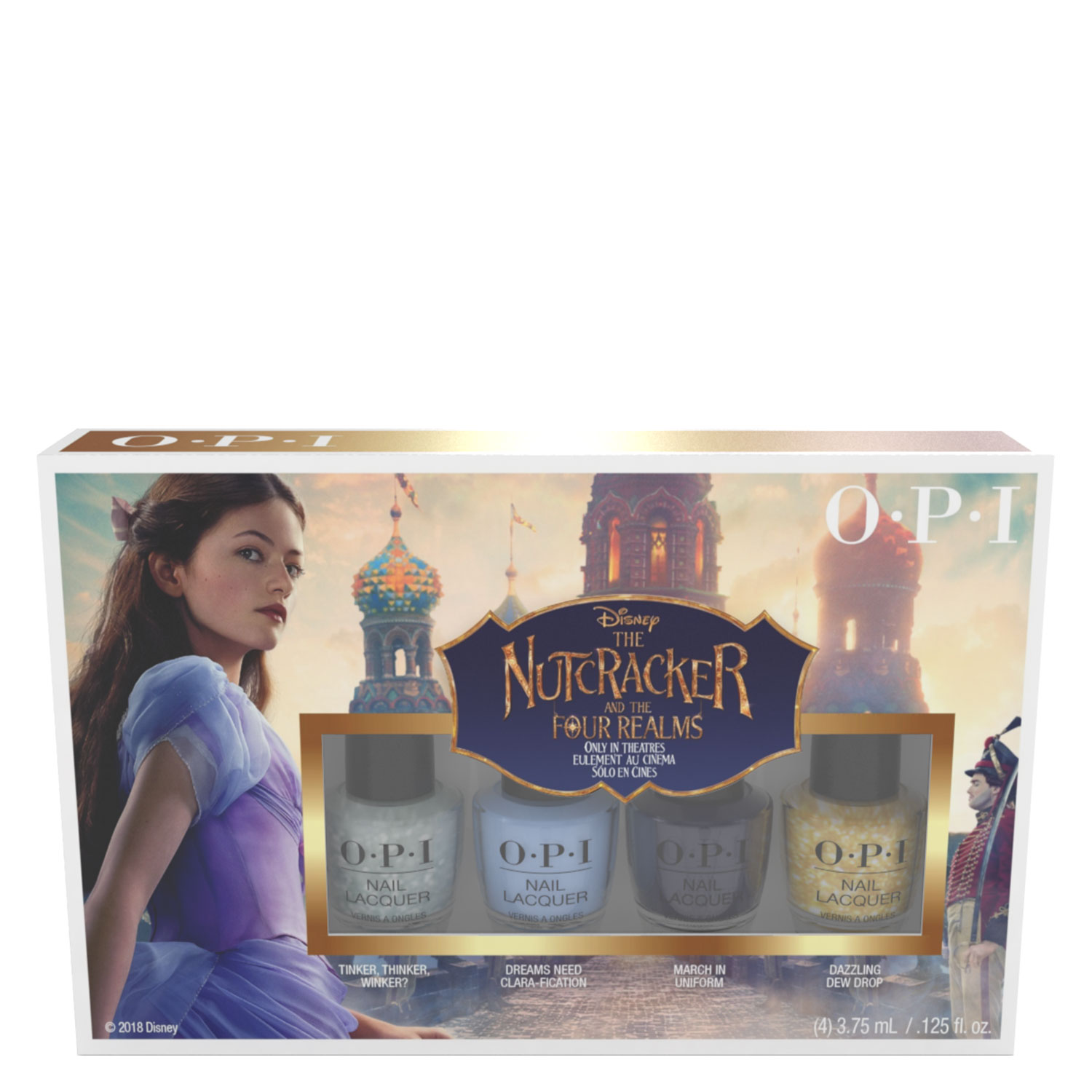 The Nutcracker and The Four Realms - Mini 4-Pack