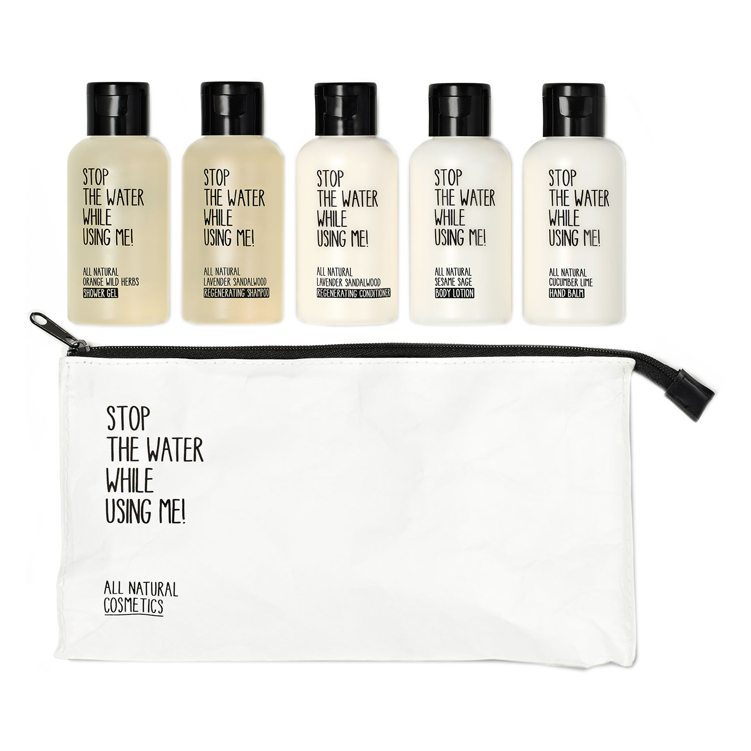 All Natural Hair - Travel Kit
