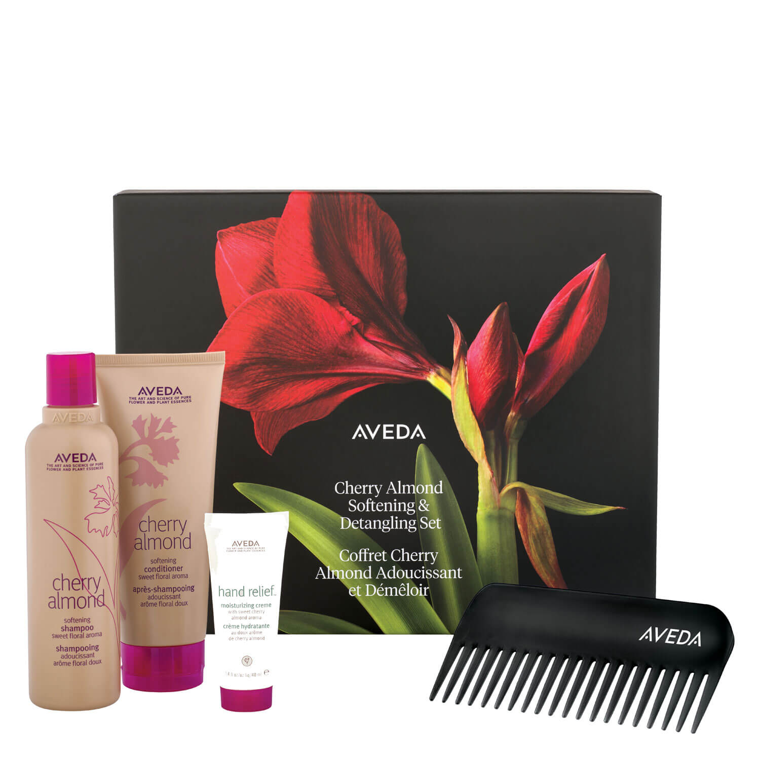 cherry almond - softening & detangling set