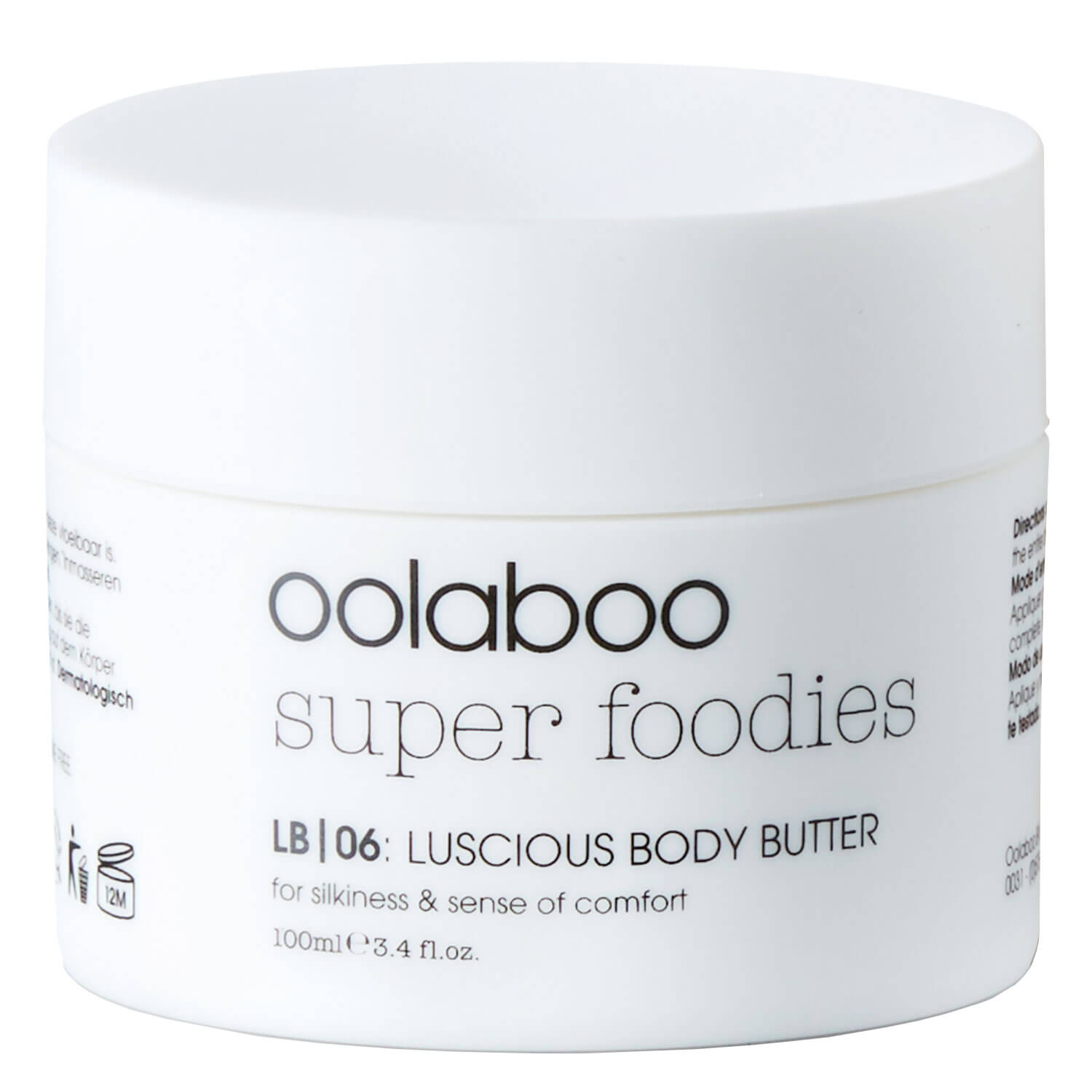 super foodies - luscious body butter
