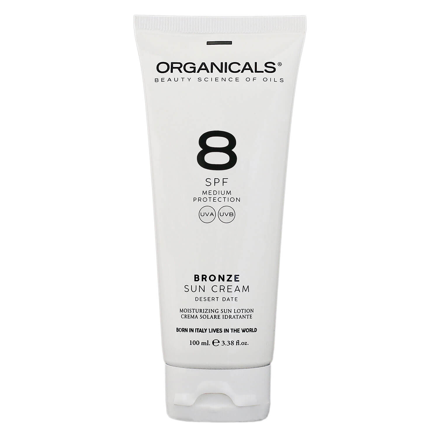 ORGANICALS - Low Protection Bronze Sun Cream SPF 8