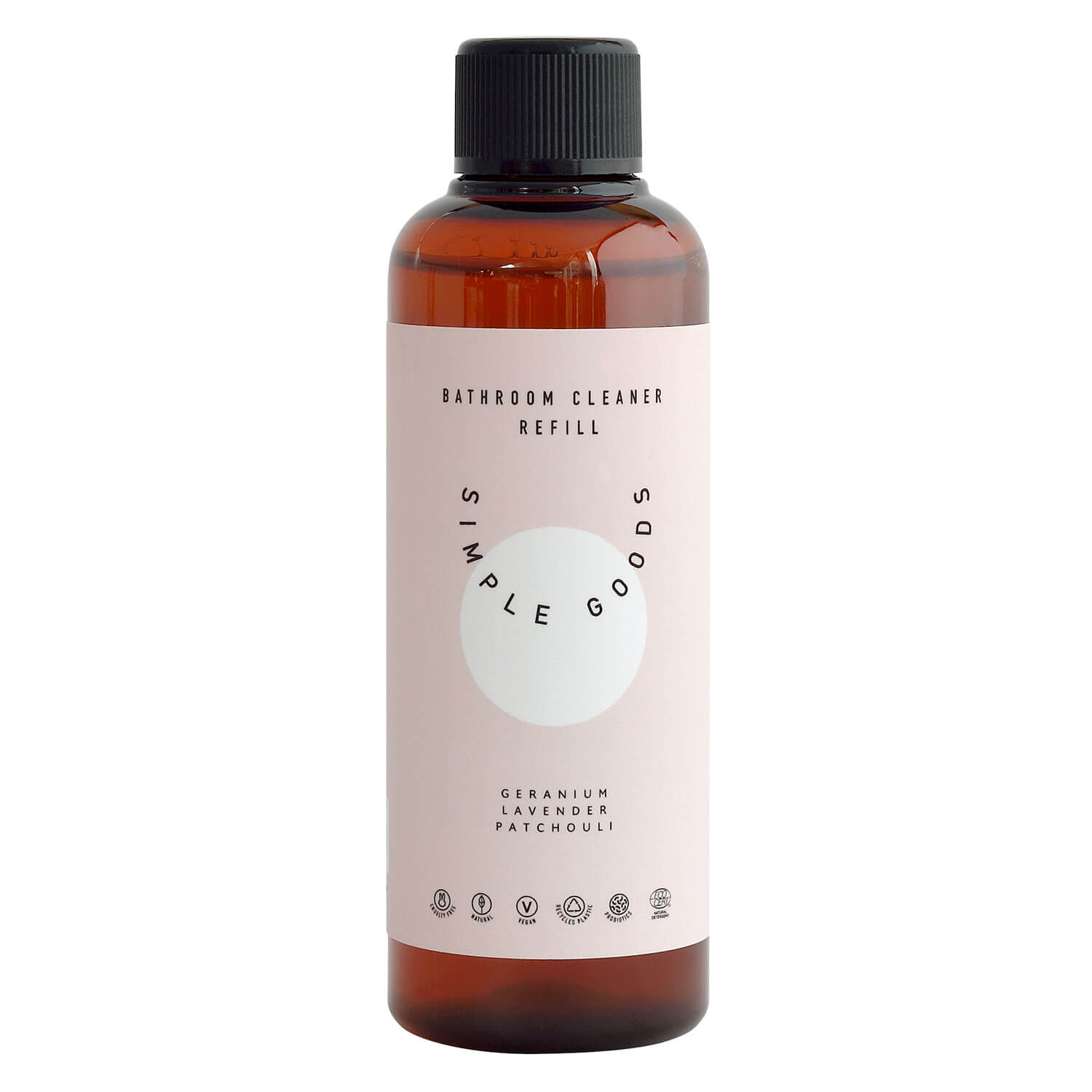 SIMPLE GOODS - Refill Bath Cleaner Geranium, Lavender, Patchouli
