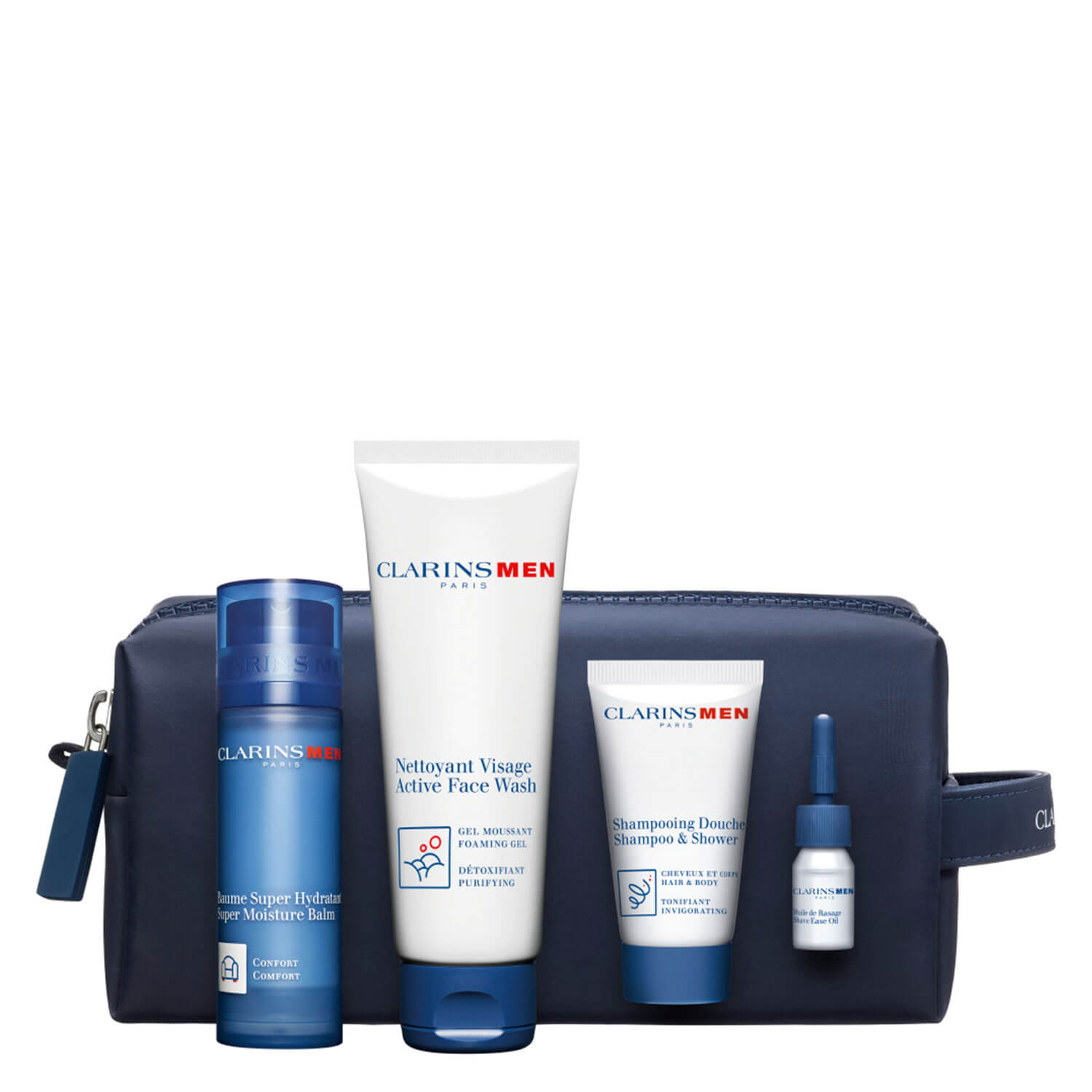 Clarins Men - Super Moisture Balm Set