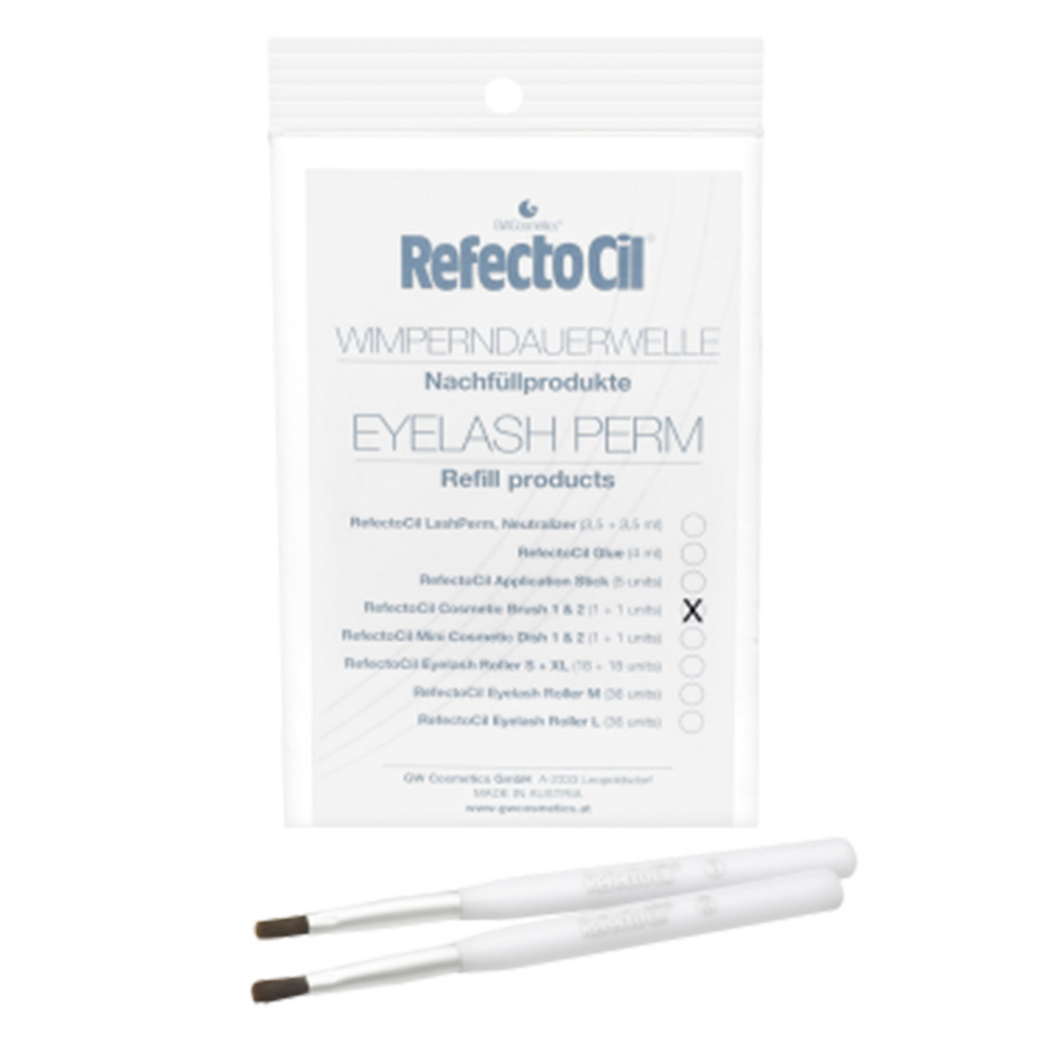 RefectoCil - Cosmetic Brush 1 & 2