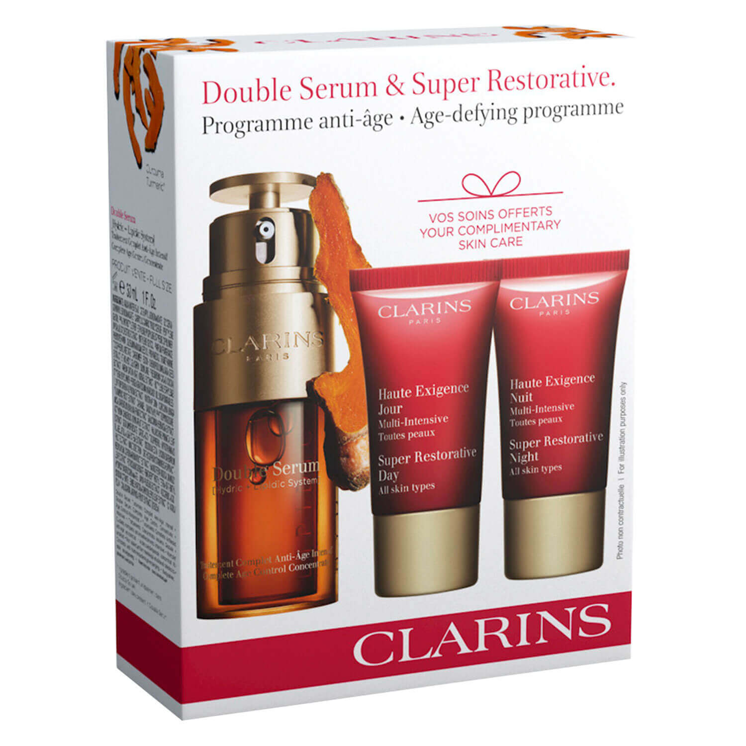Clarins Specials - Double Serum & Super Restorative Set