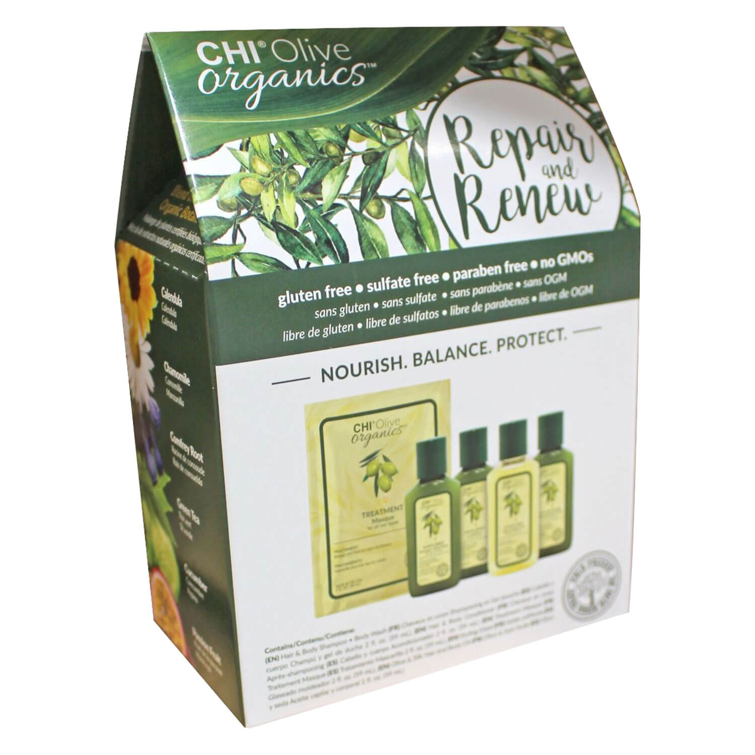 CHI Olive Organics - Repair & Renue Set