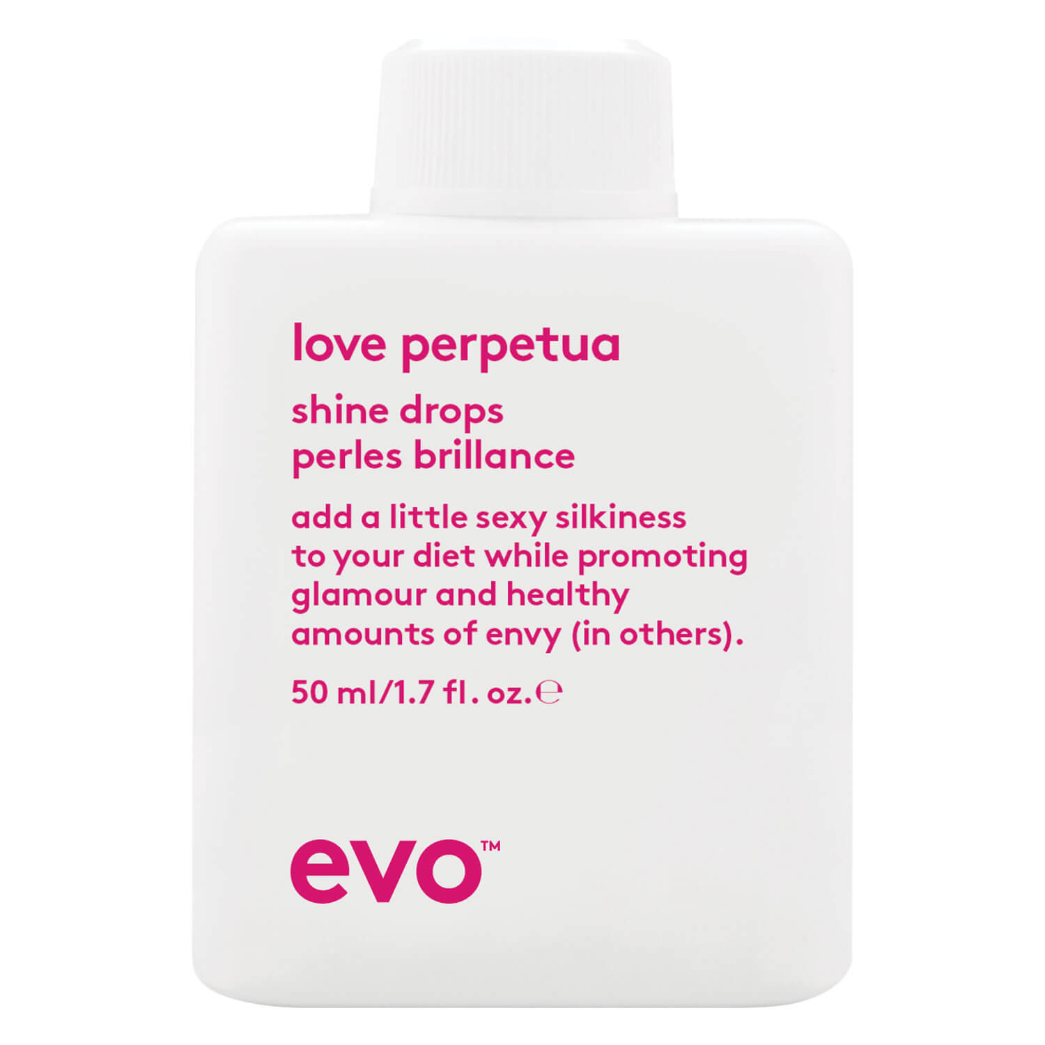 evo smooth - love perpetua shine drops