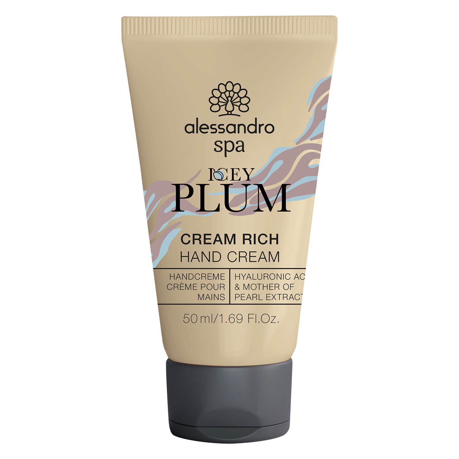 Alessandro Spa - Cream Rich Hand Cream Icey Plum
