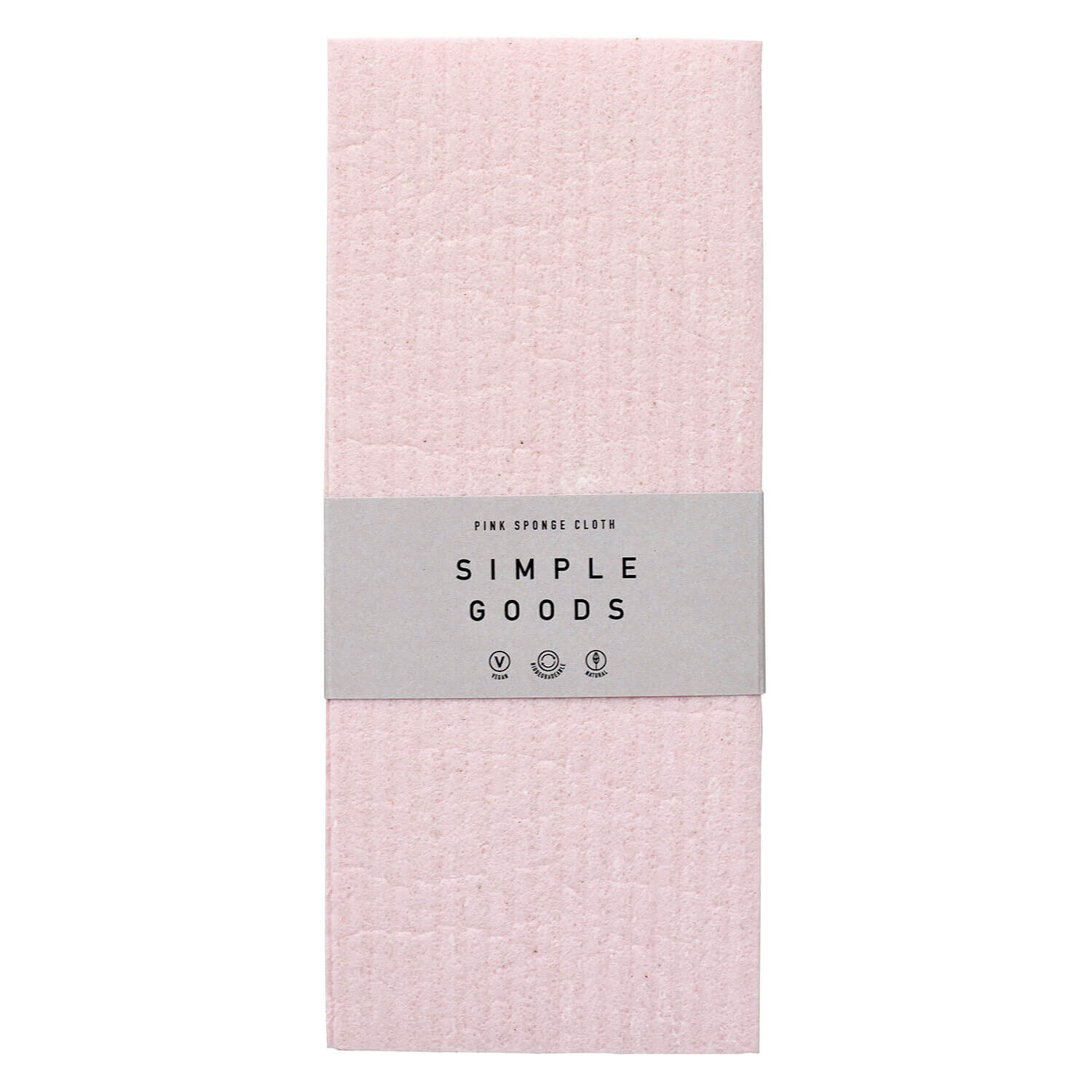 SIMPLE GOODS - Sponge Cloth Pink