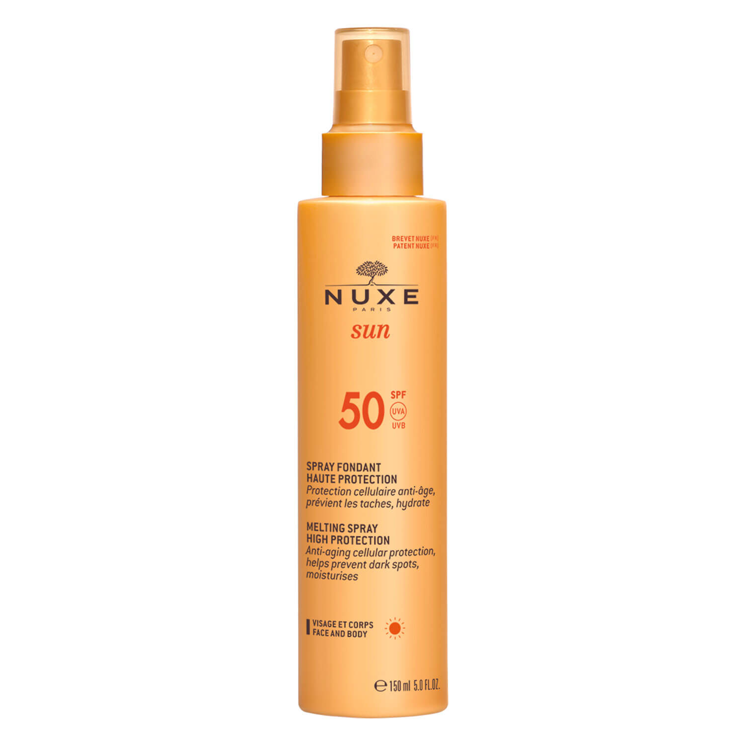 Nuxe Sun - Spray Fondant Haute Protection SPF50