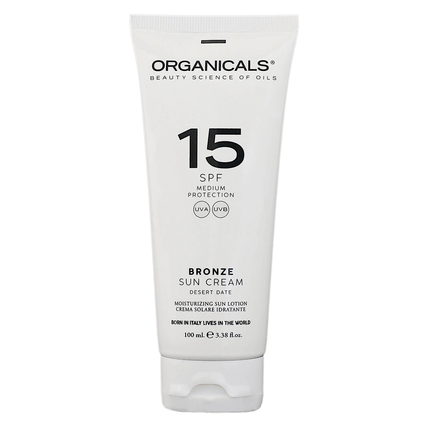 ORGANICALS - Medium Protection Bronze Sun Cream SPF 15