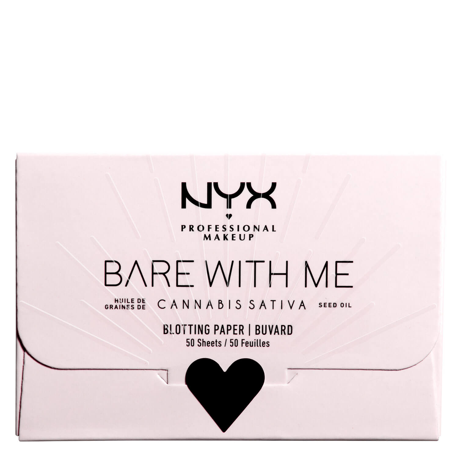 Bare with me - Cannabis Sativa Seed Oil Blotting Paper