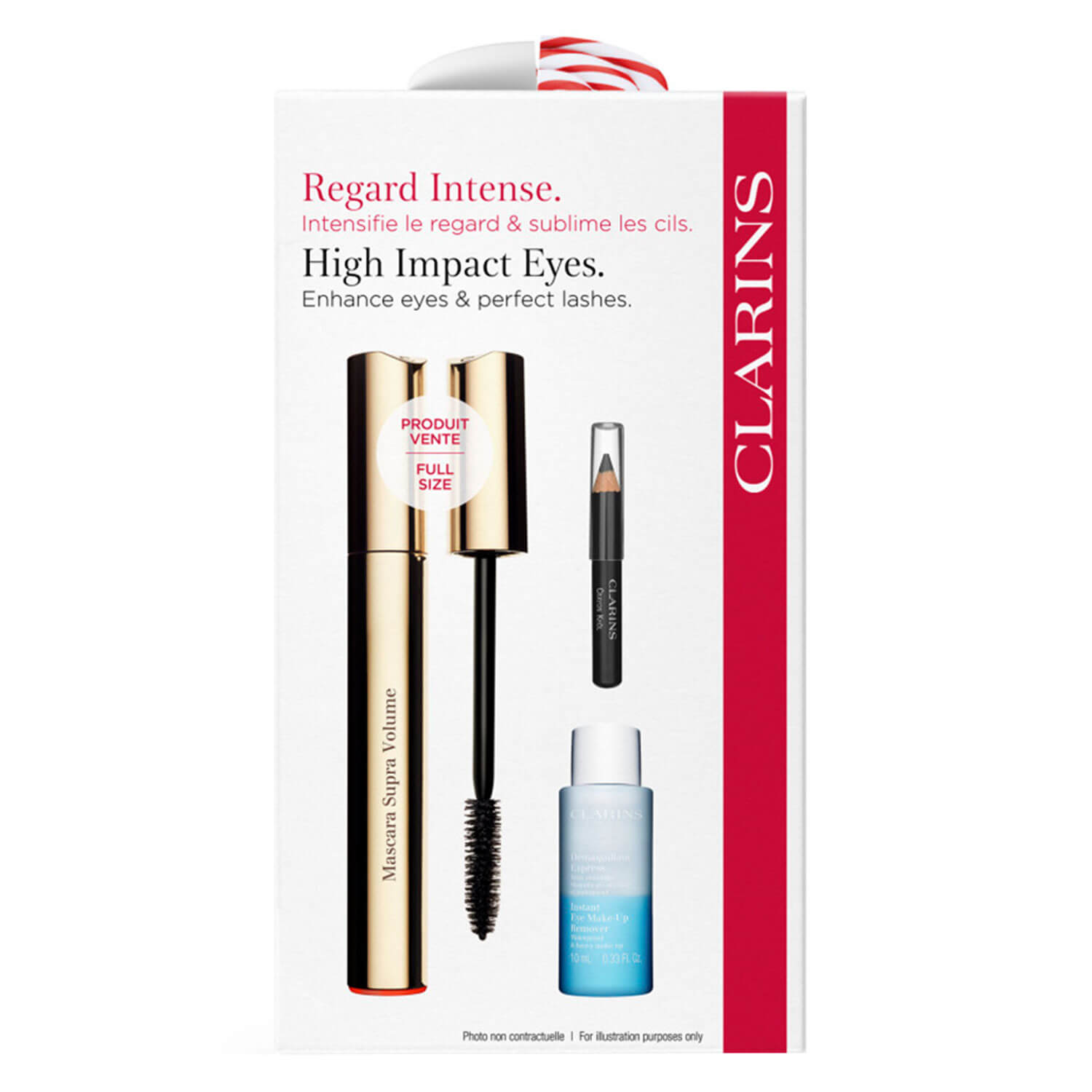 Clarins Mascara - Supra Volume Kit