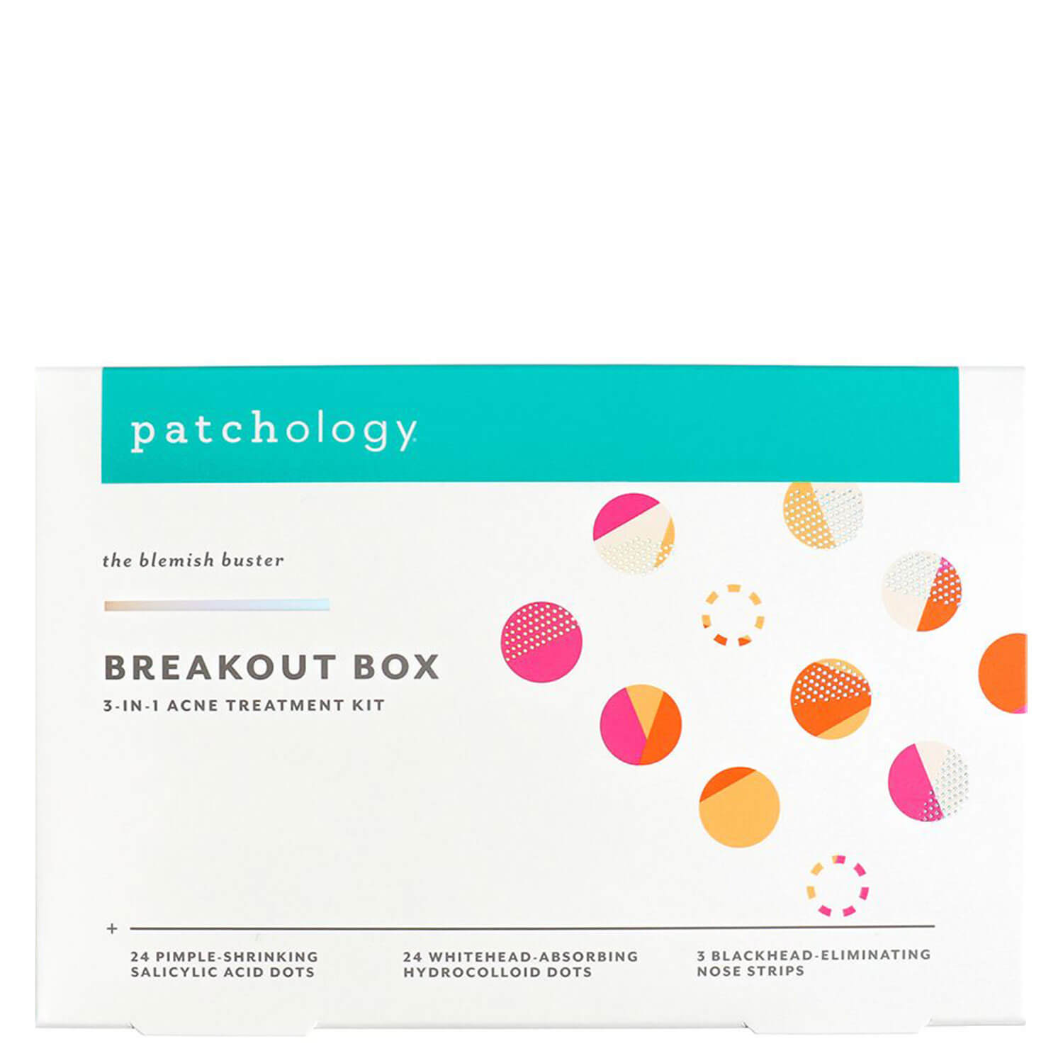 patchology Kits - Breakout Box 3-In-1 Acne Treatment Kit