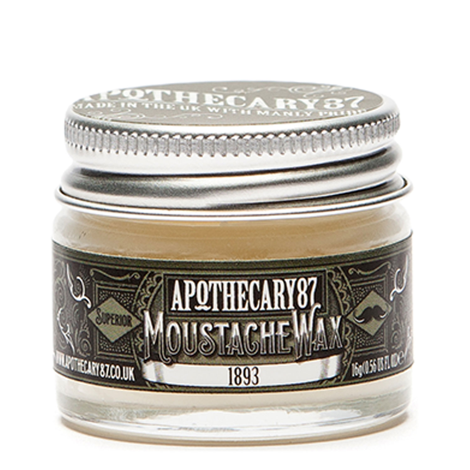 Apothecary87 Grooming - Moustache Wax 1893 Fragrance