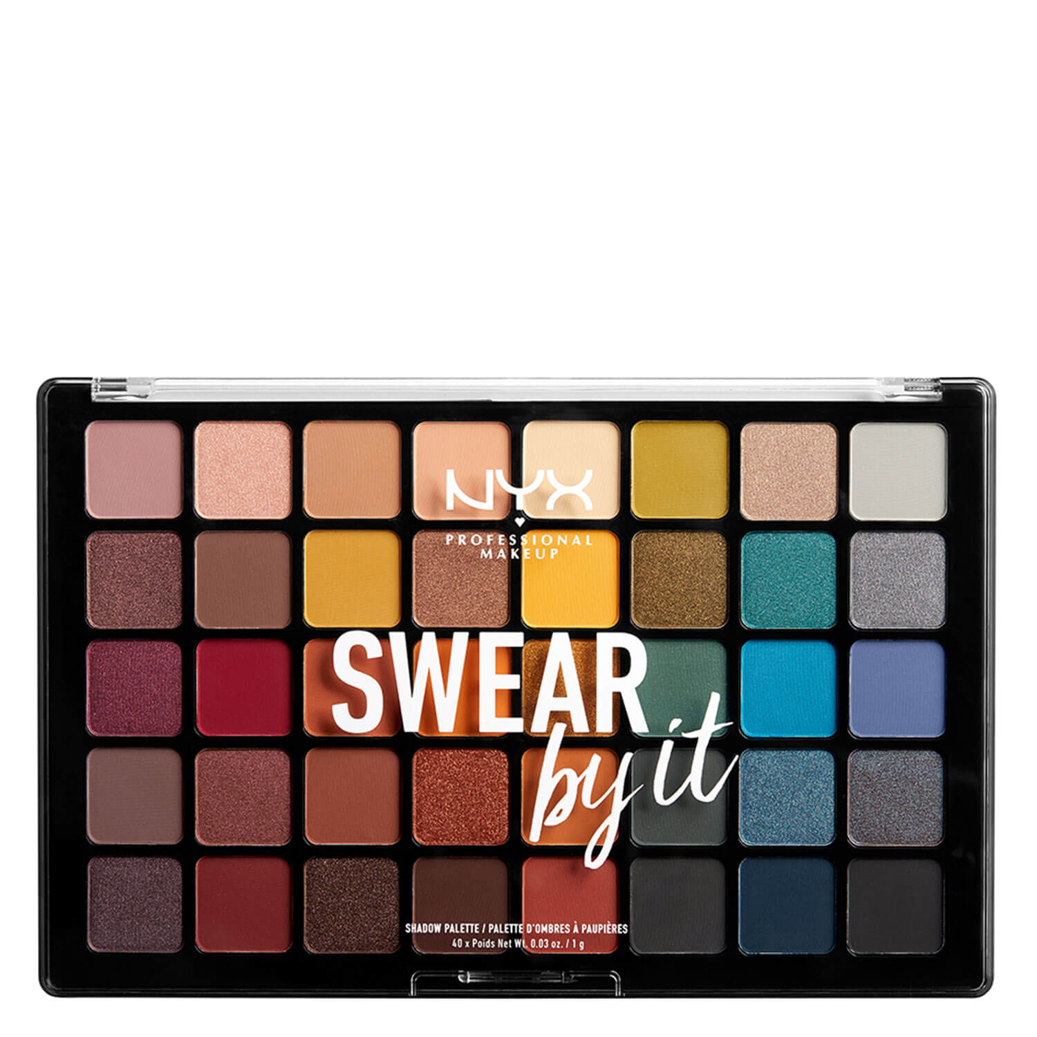 NYX Palette - Swear by It Shadow Palette