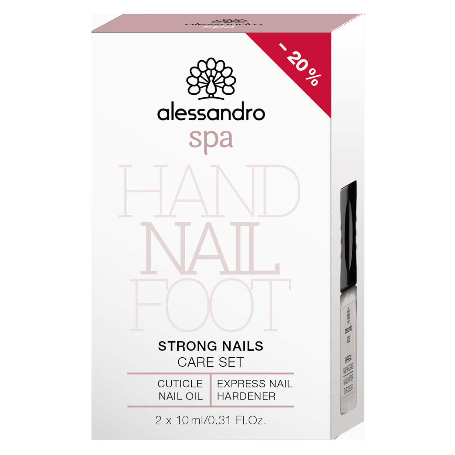 Alessandro Spa - Strong Nails Care Set