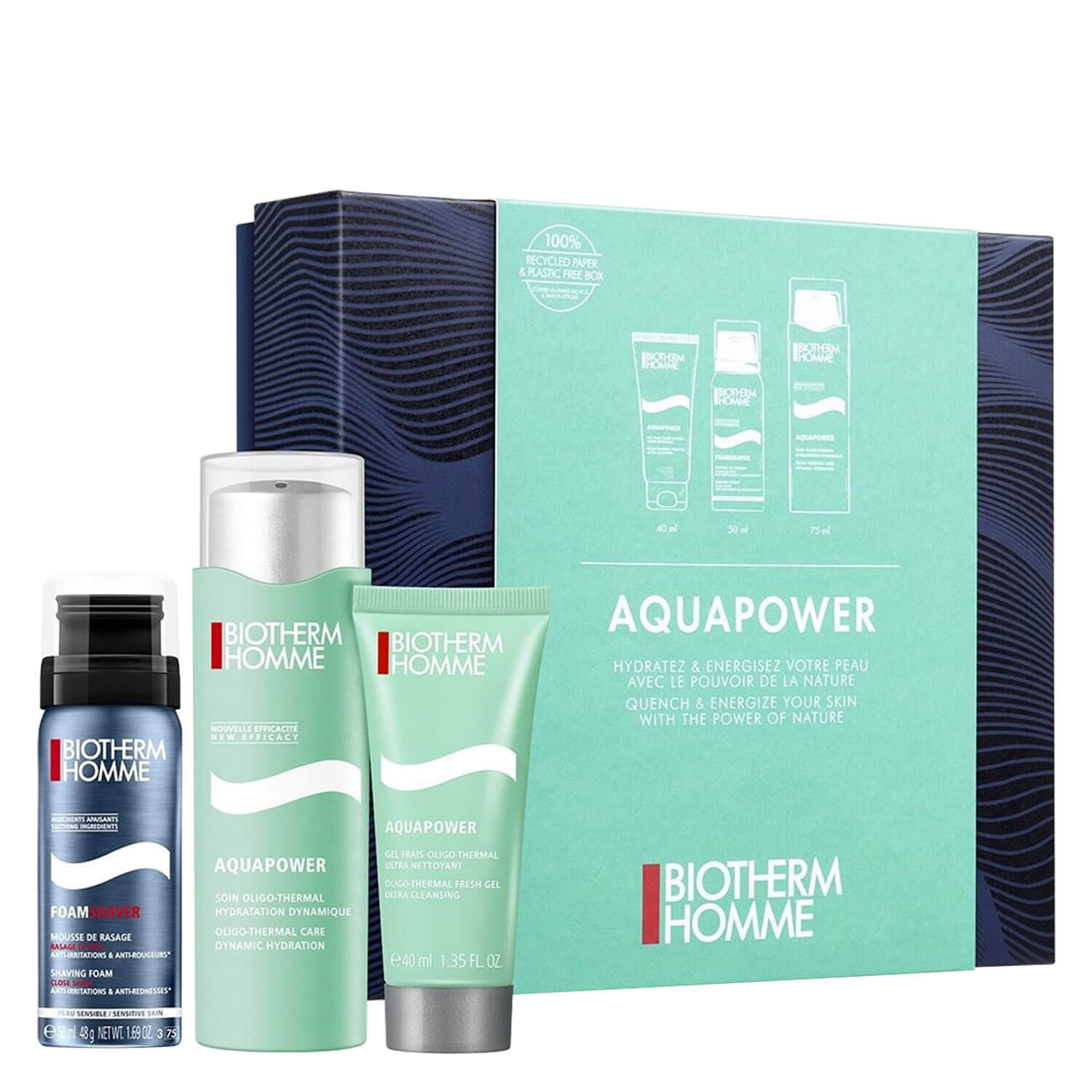 Biotherm Homme - Aquapower Trio Set