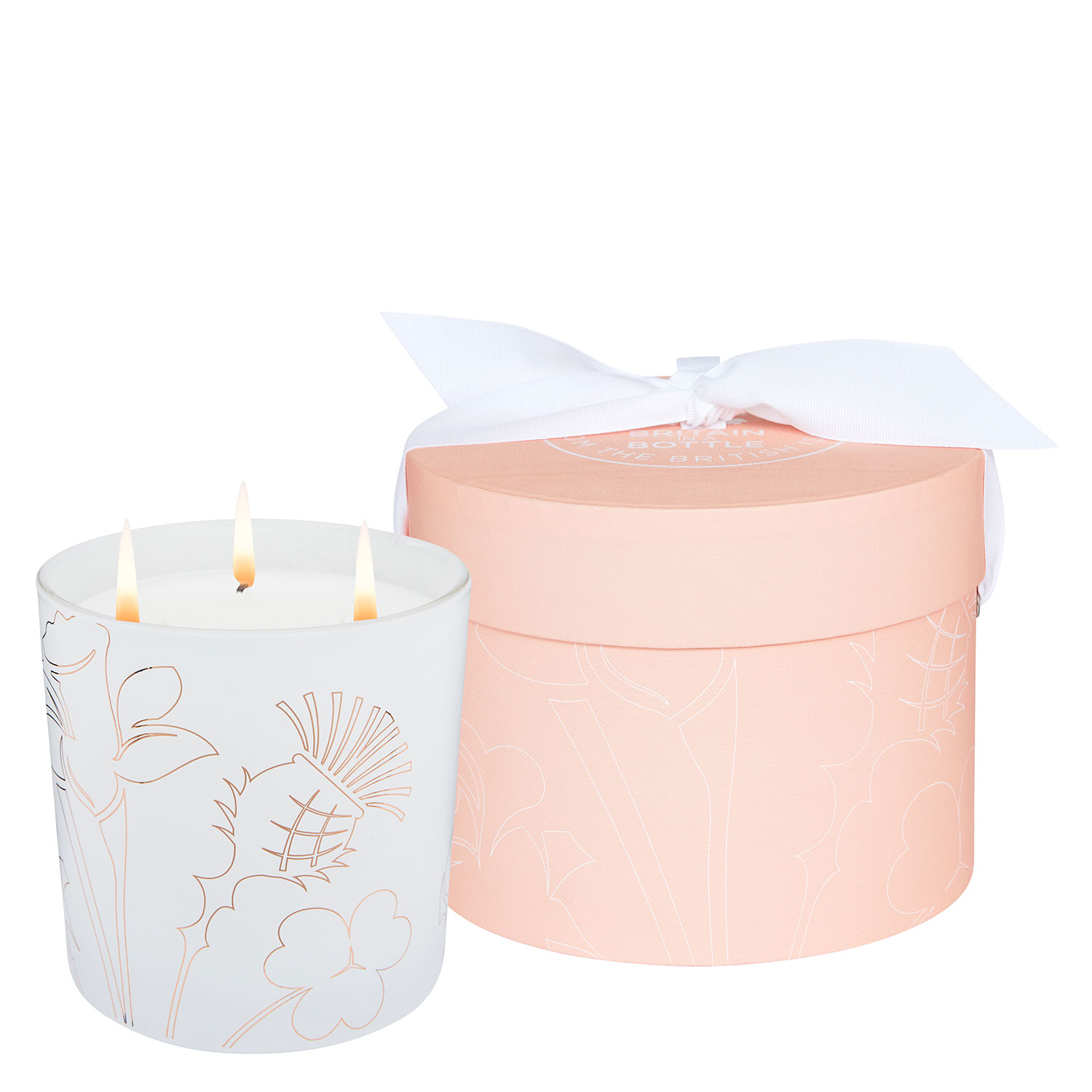 Noble Isle - The Crème de Rhubarb 3 Wick Candle