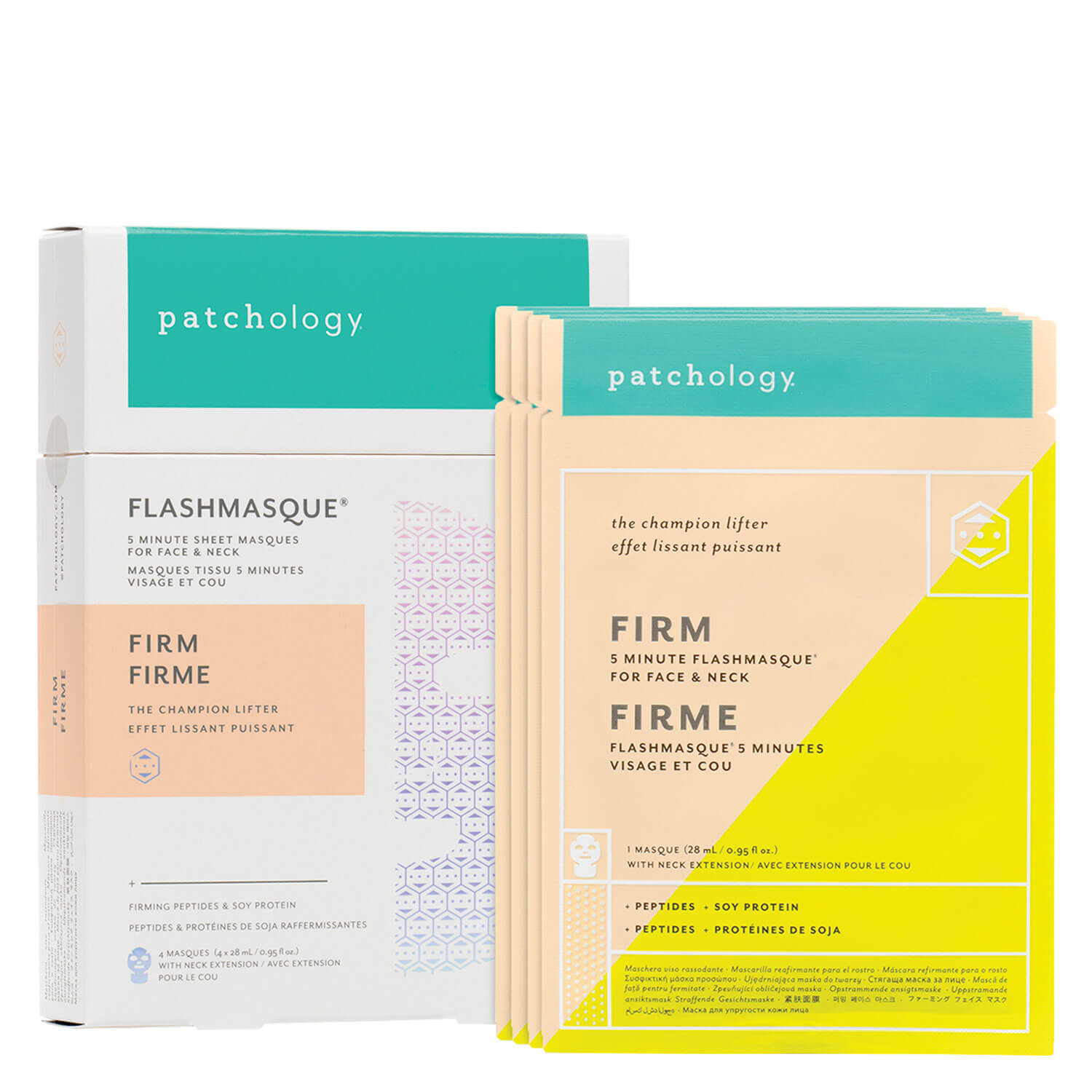 FlashMasque - Firm 5 Minute Sheet Mask for Face and Neck