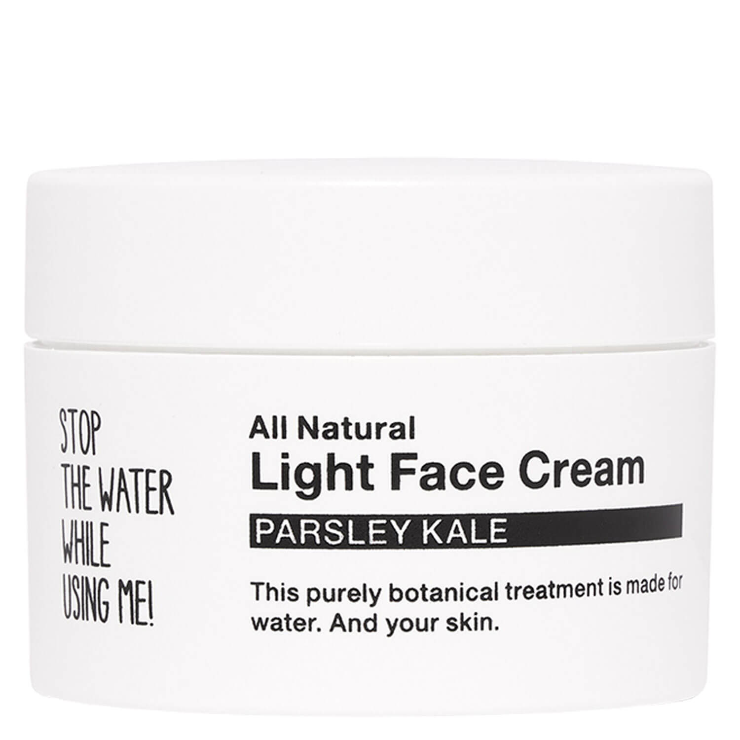 All Natural Face - Light Face Cream Parsley Kale