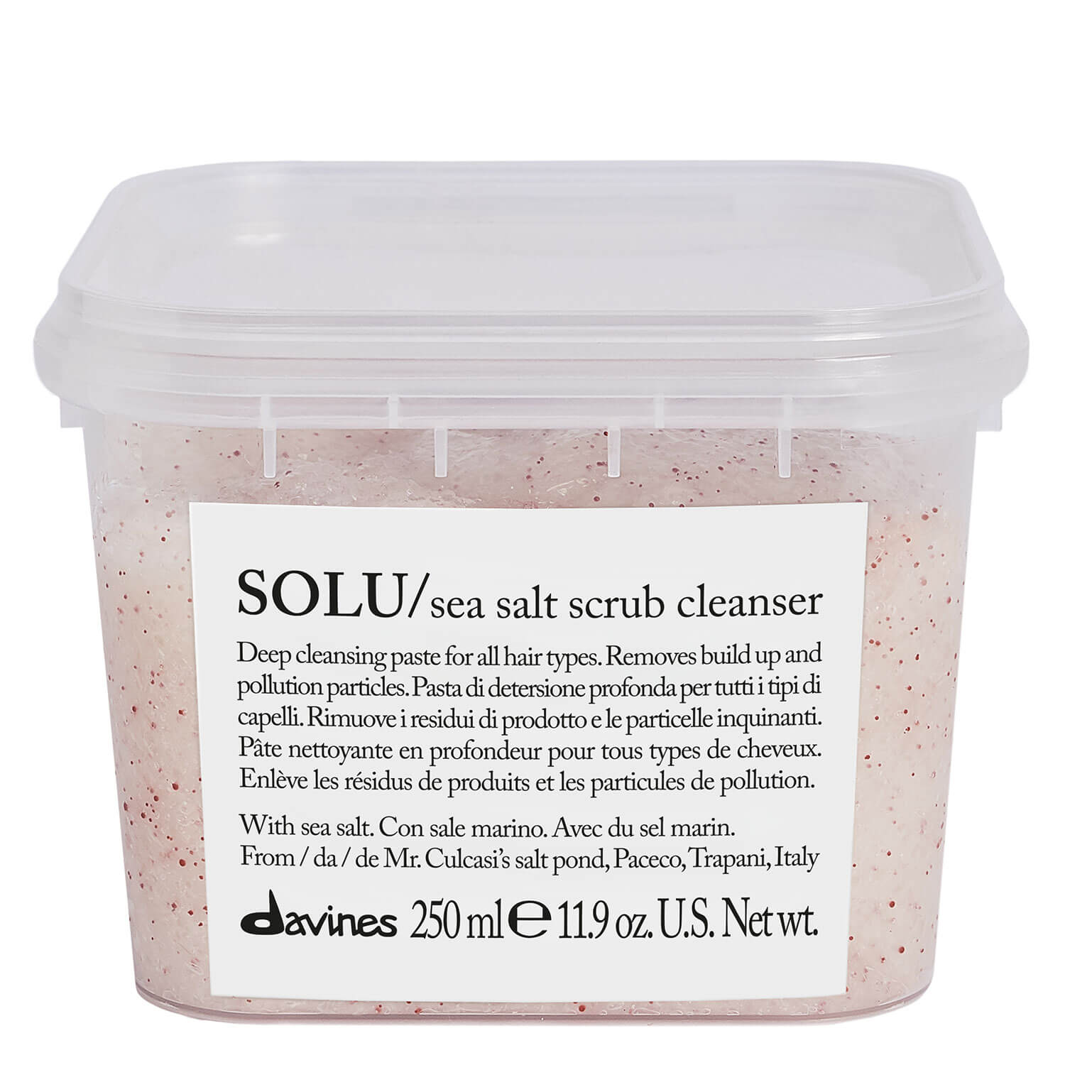 Essential Haircare - SOLU Sea Salt Scrub Cleanser