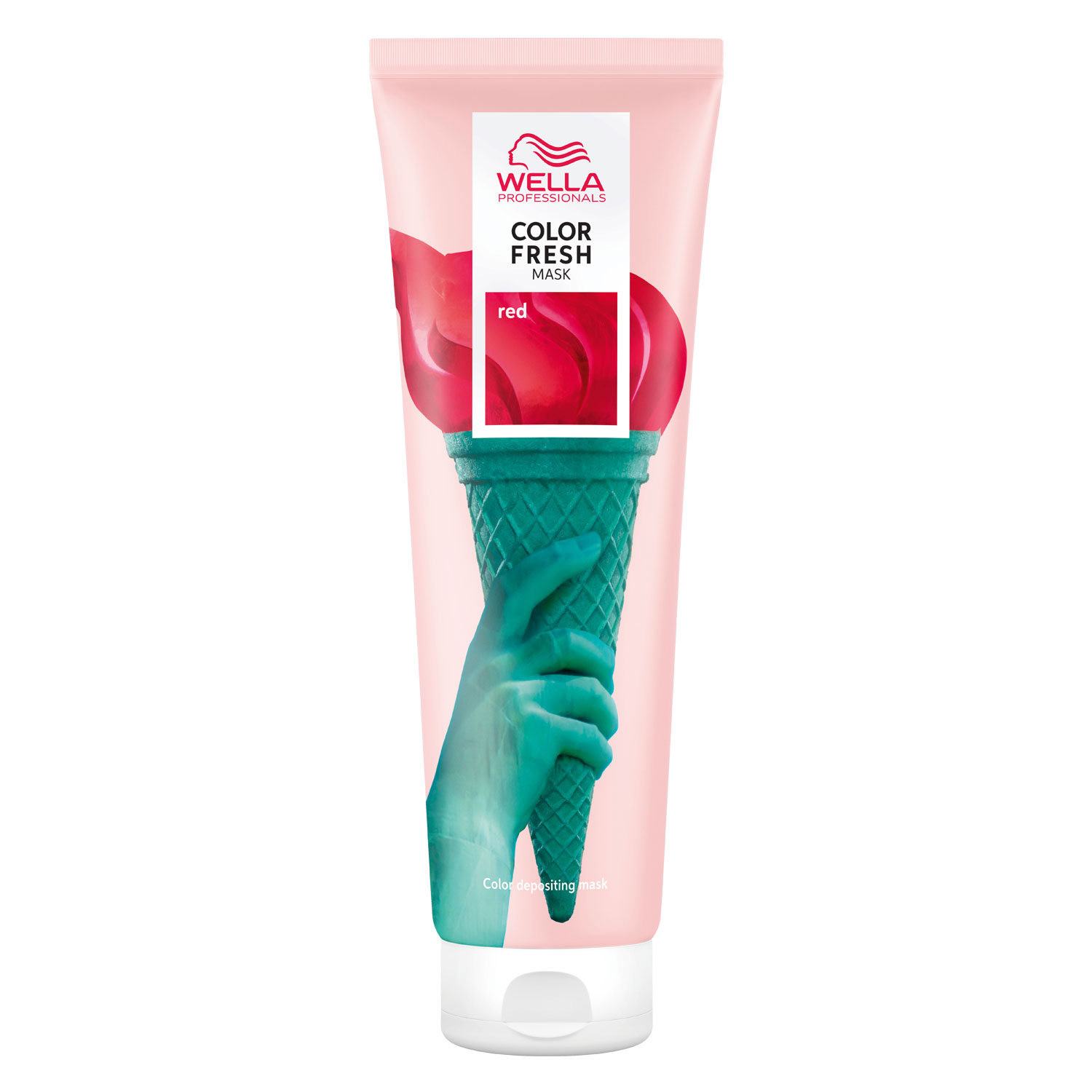 Color Fresh Mask - Red