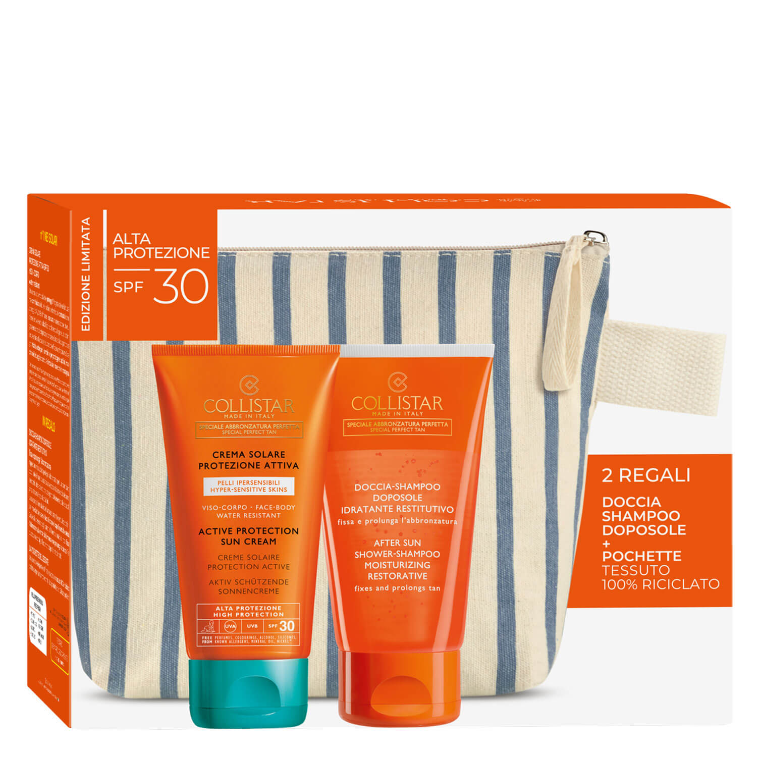 CS Sun - Active Protection Sun Cream face & body SPF30 Set