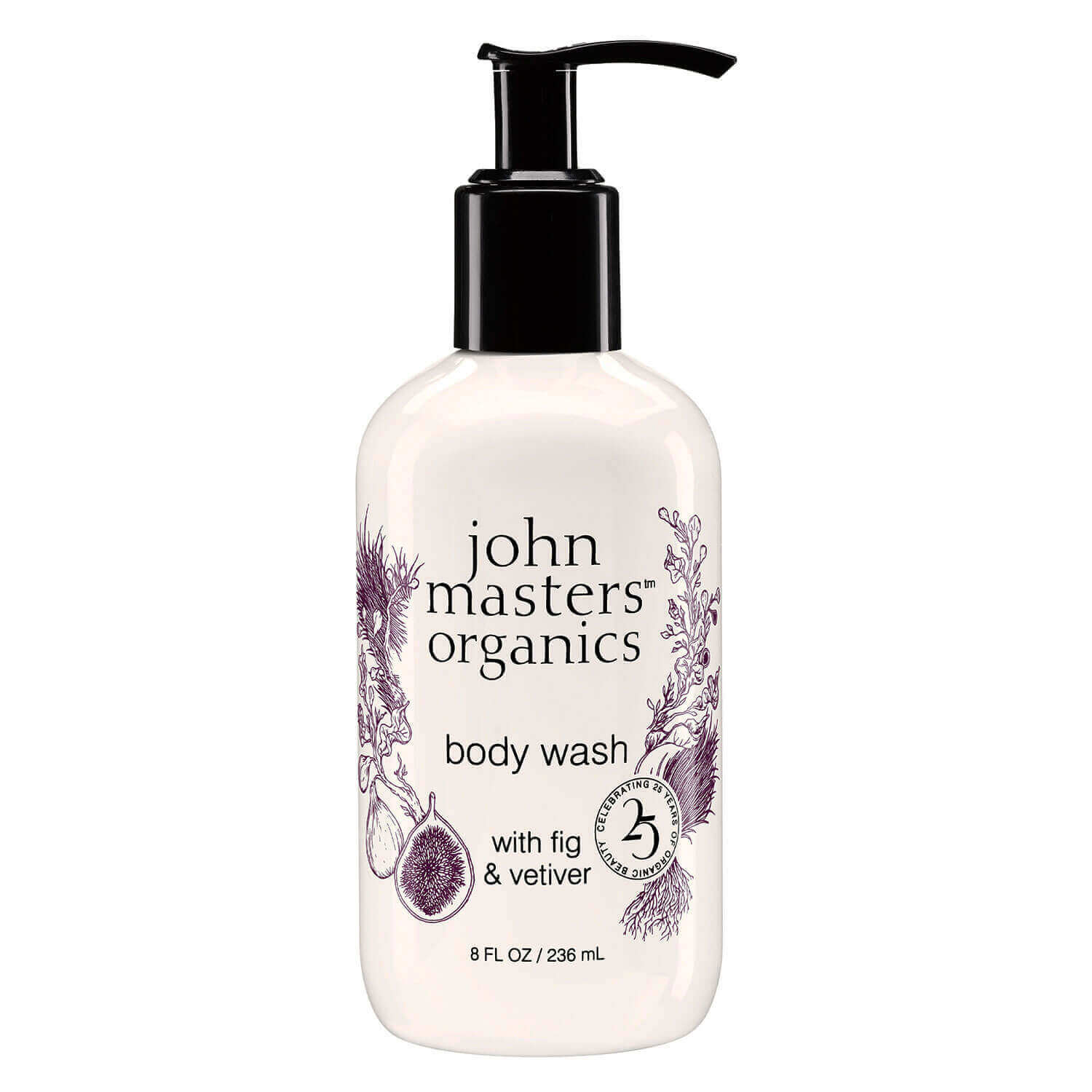 JMO Skin & Body Care - Body Wash with Fig & Vetiver