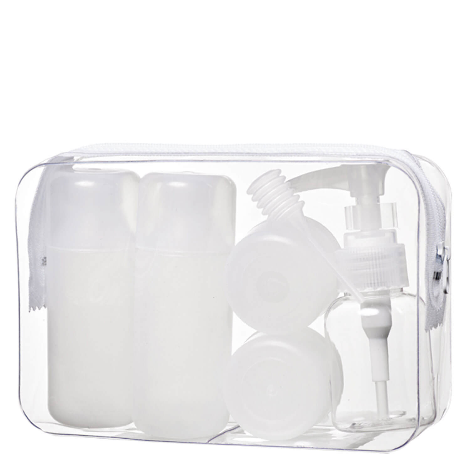 TRISA Travel - Reiseset Transparent Gross