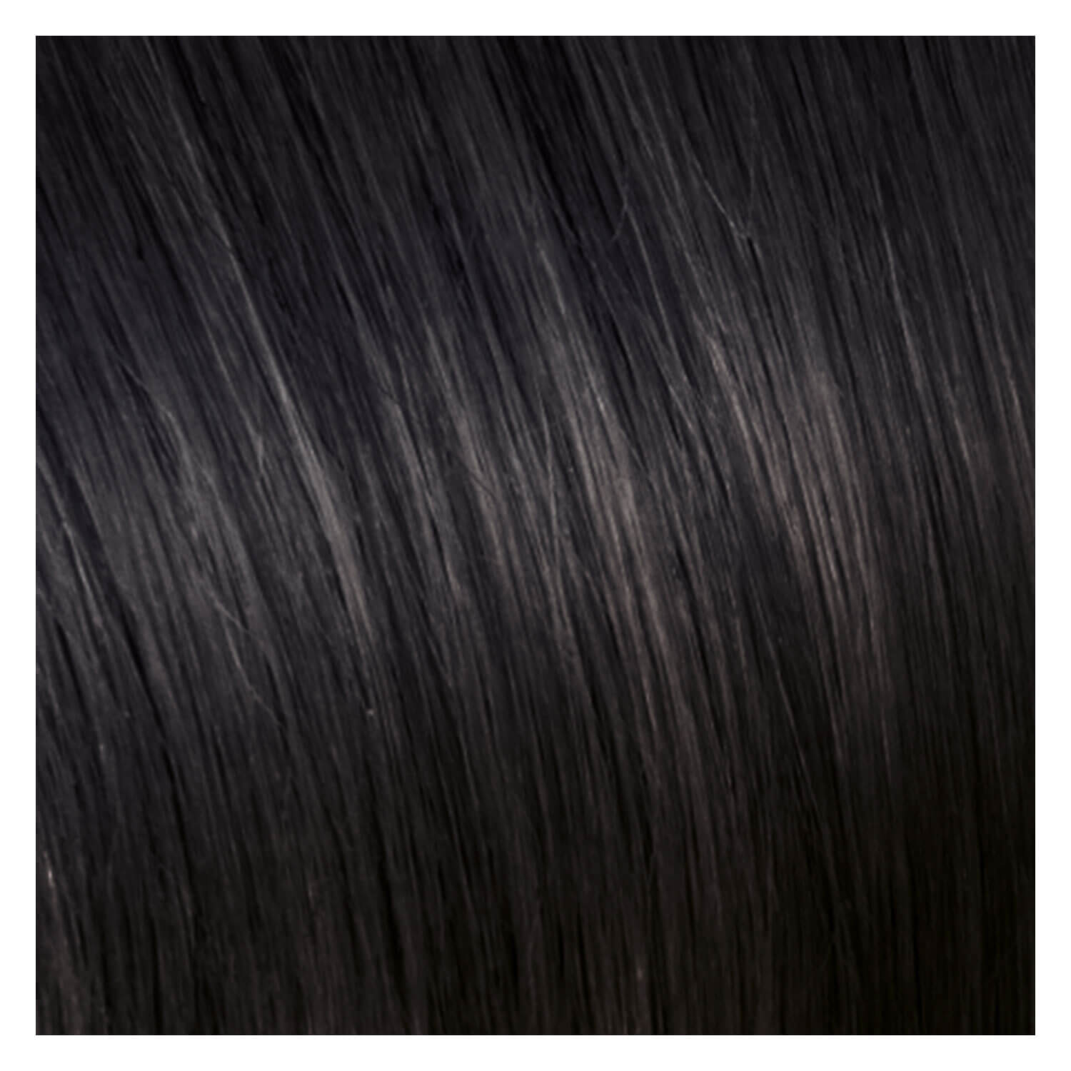 SHE Weft In-System Hair Extensions - 1B Schwarz 50/60cm