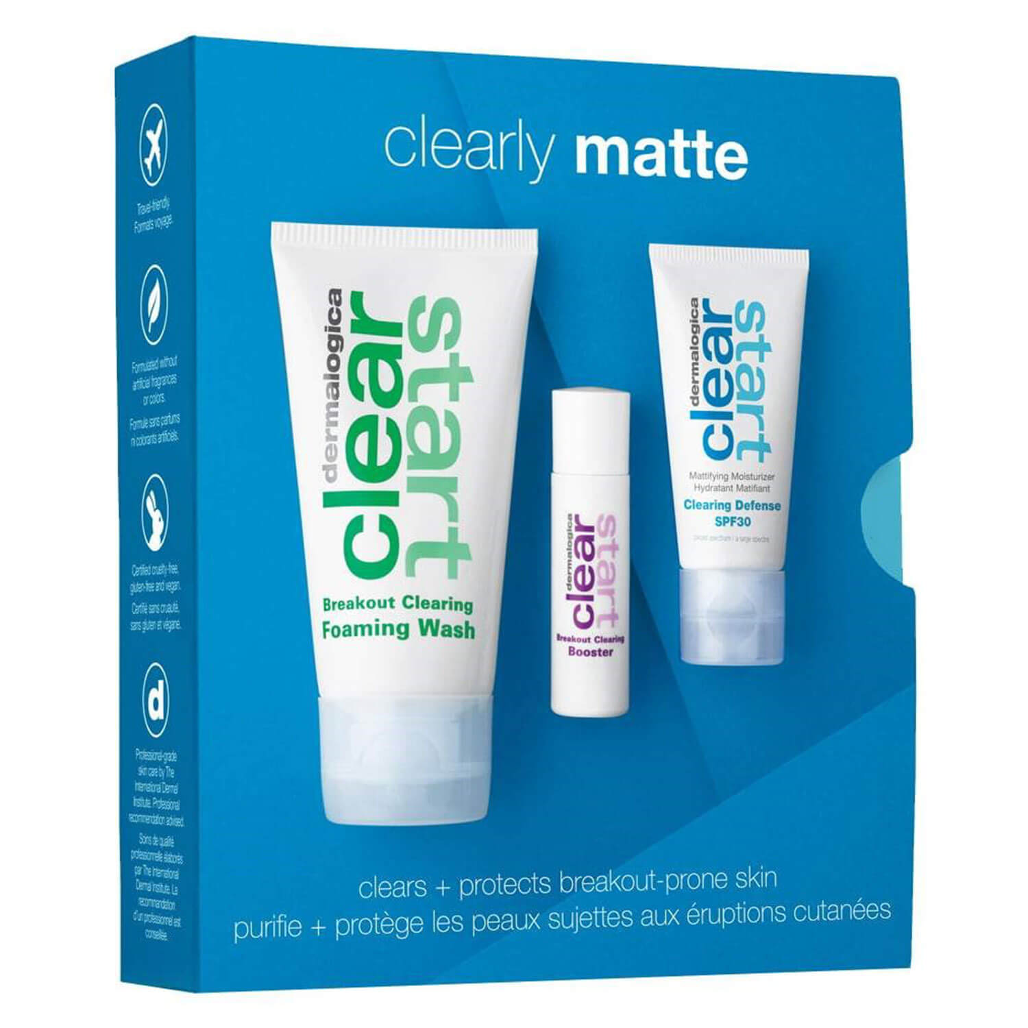 Clear Start - Clearly Matte Skin Kit