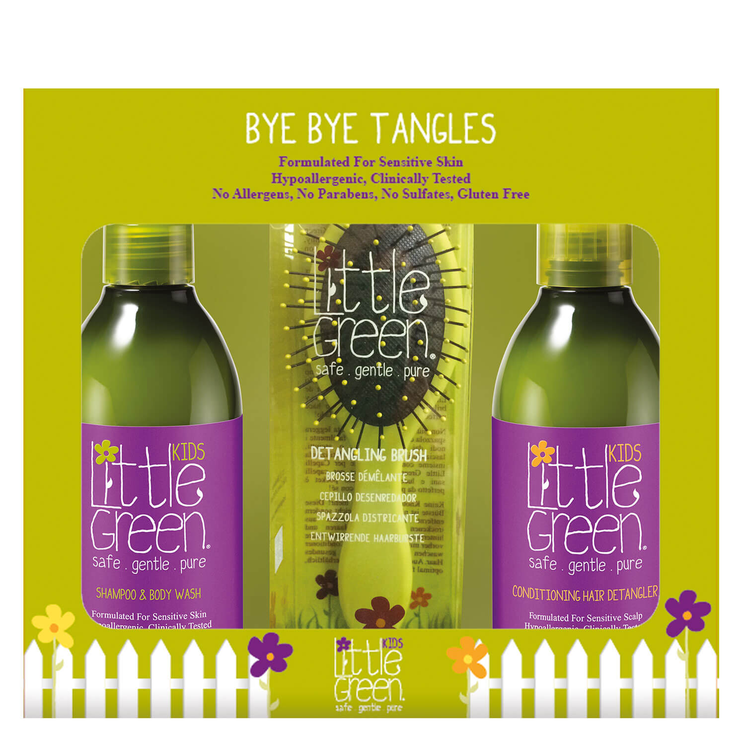 Little Green Kids - Bye Bye Tangles Set