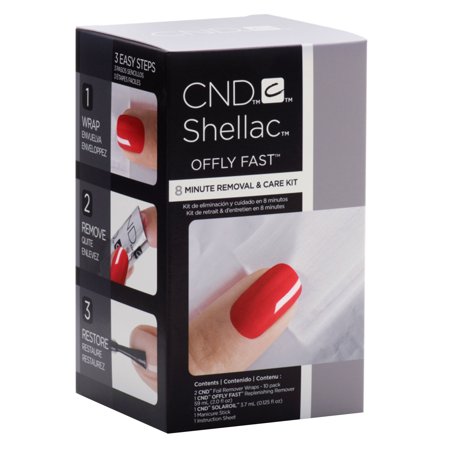 Shellac - Offly Fast 8 Minute Removal & Care Kit