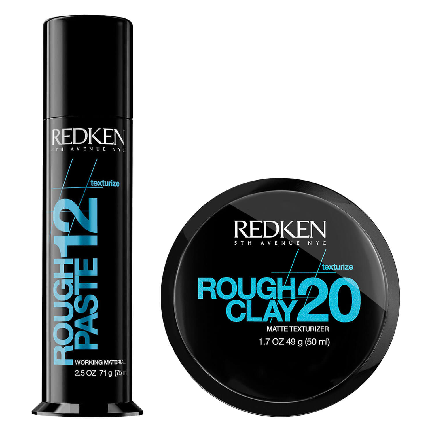 Redken Texture - Rough Paste 12 + Rough Clay 20 Special