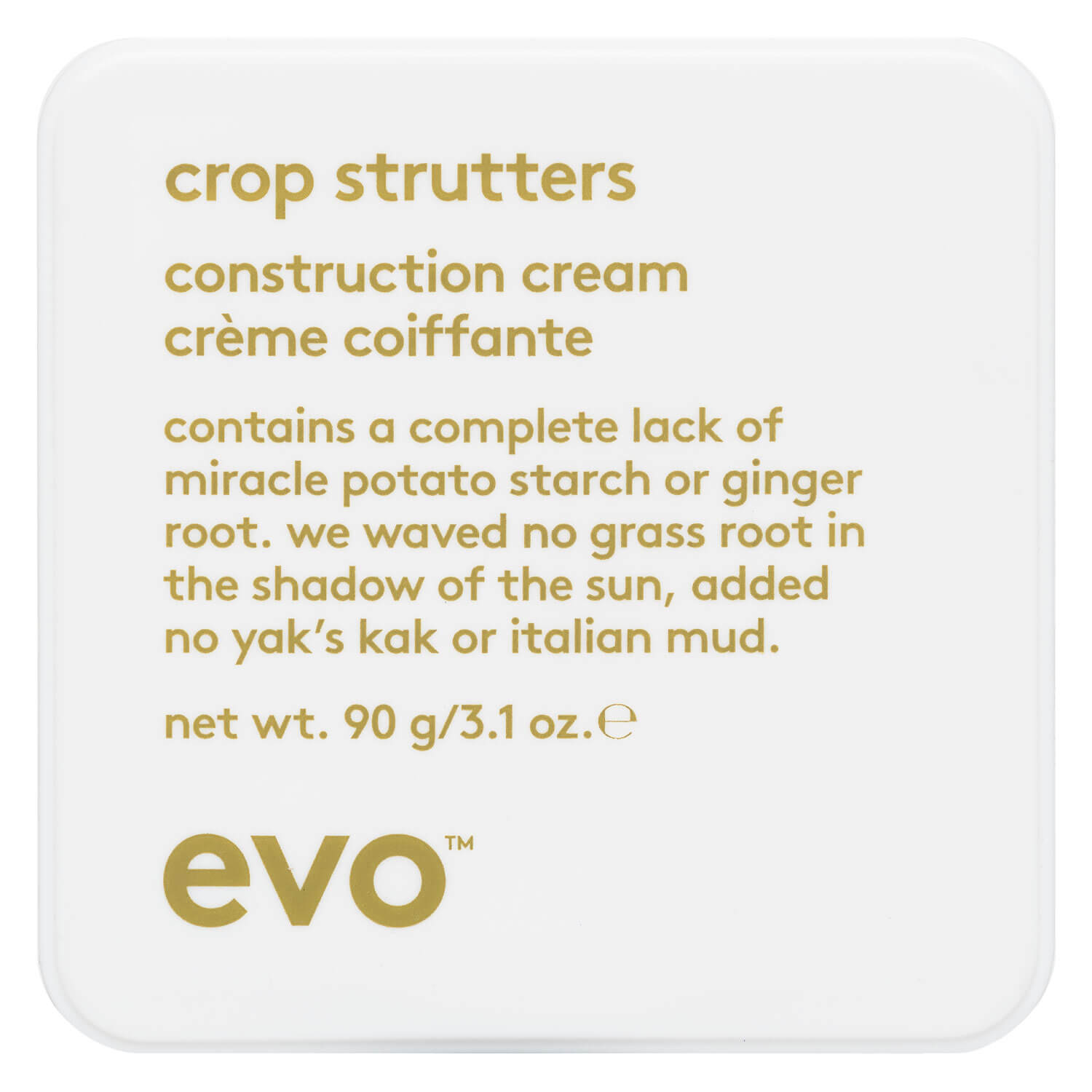evo style - crop strutters construction cream