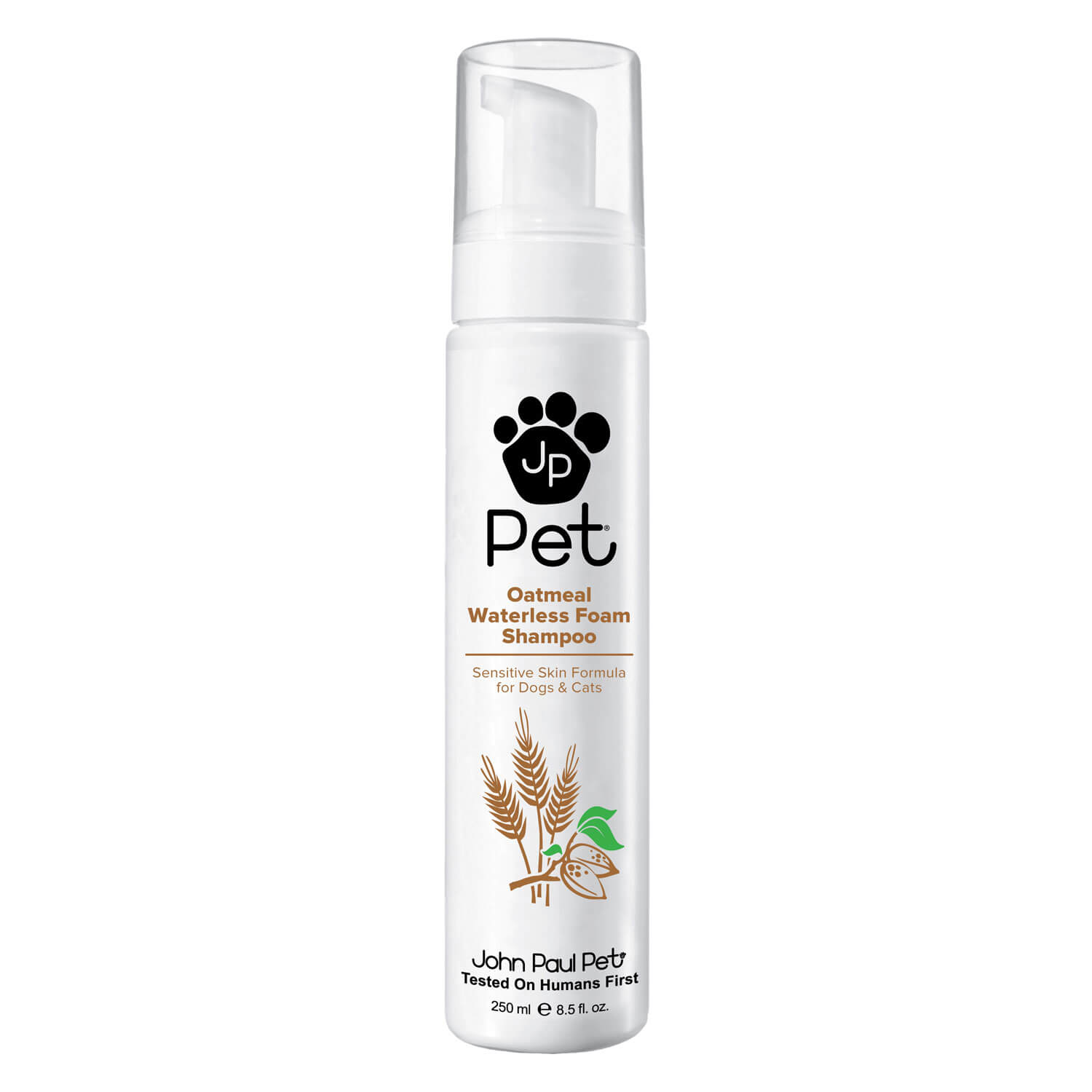 JP Pet - Oatmeal Waterless Foam Shampoo