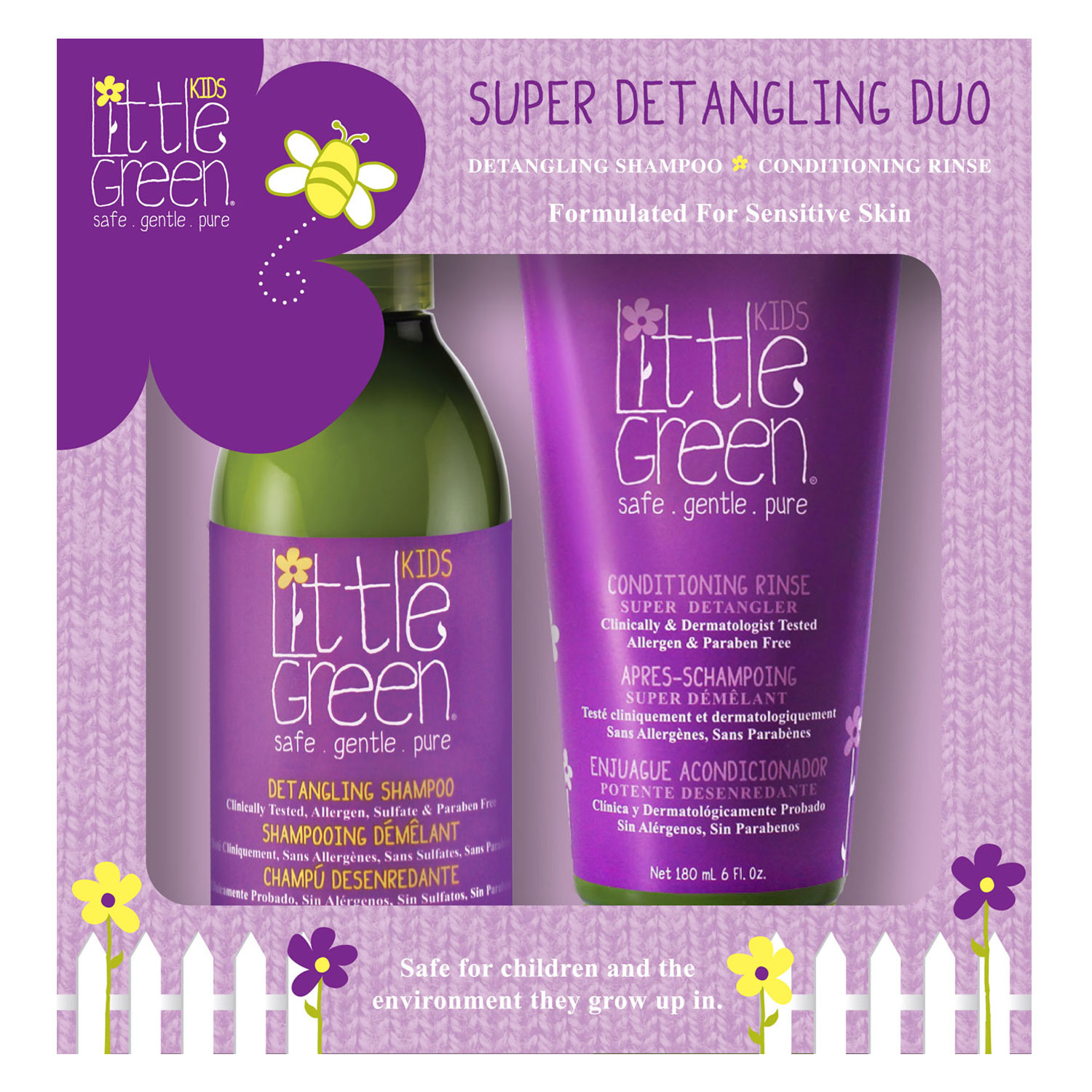Little Green Kids - Super Detangling Duo