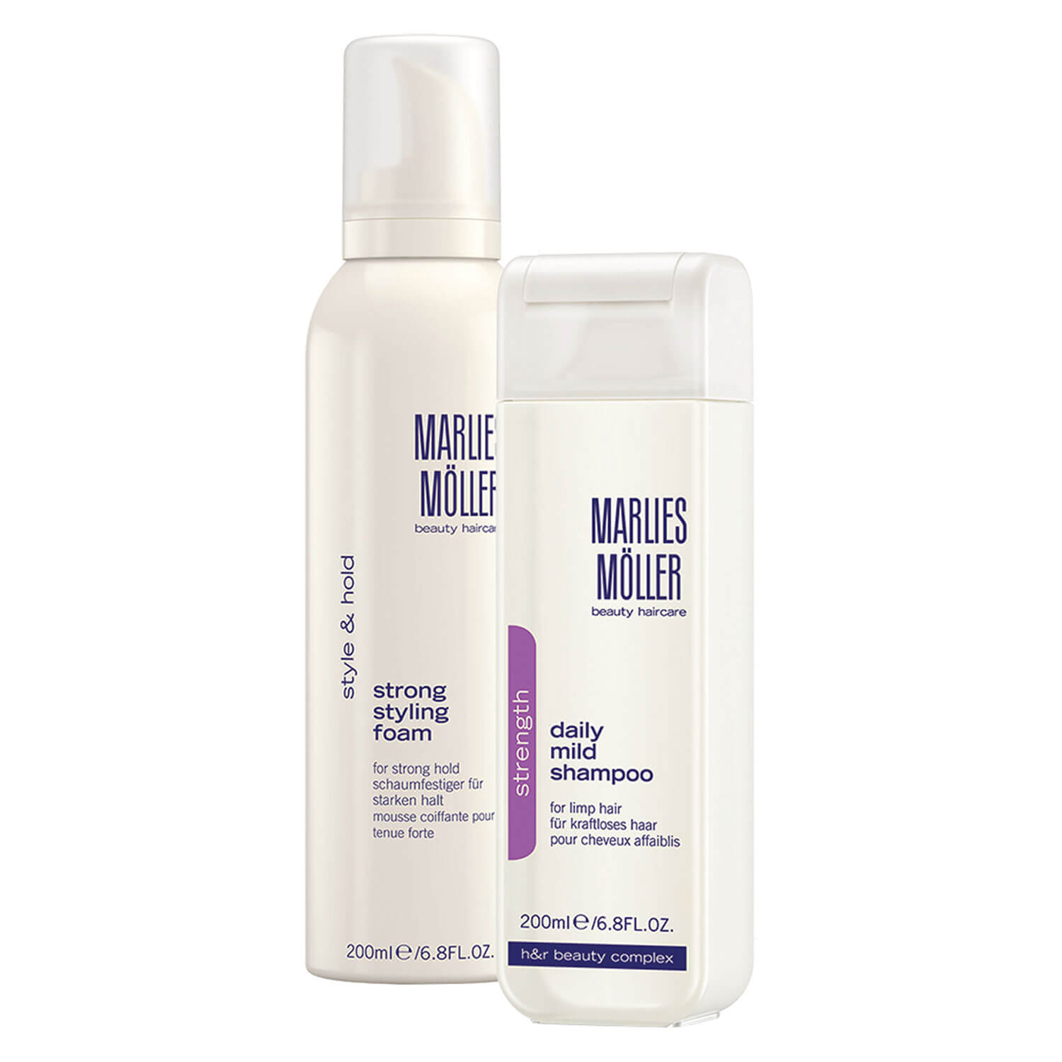 MM Strength - Shampoo & Styling Foam Set