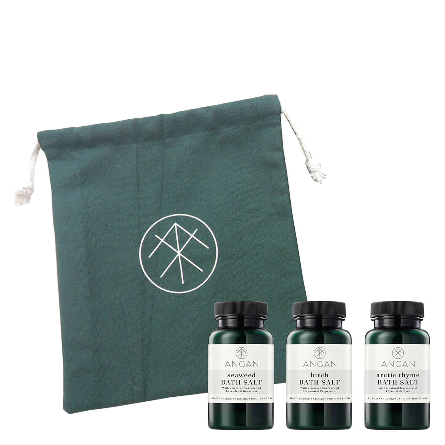 ANGAN - Bath Salts Set