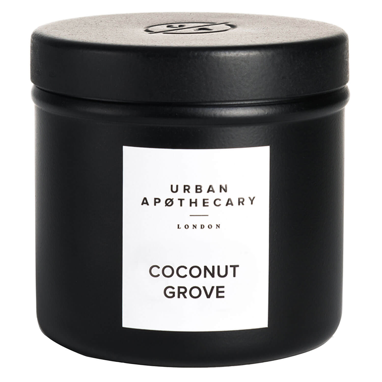 Urban Apothecary - Luxury Iron Travel Candle Coconut Grove