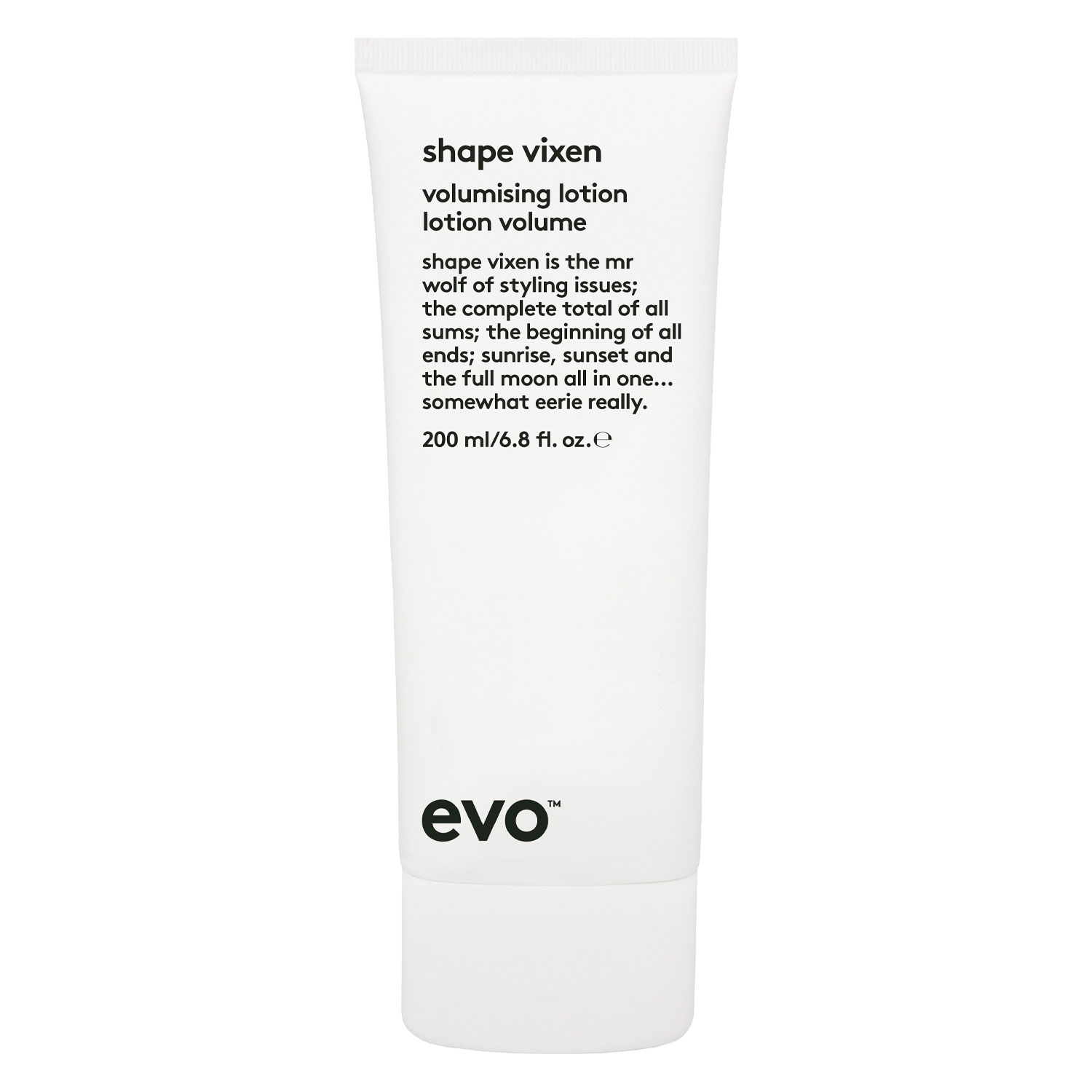 evo volume - shape vixen volumising lotion