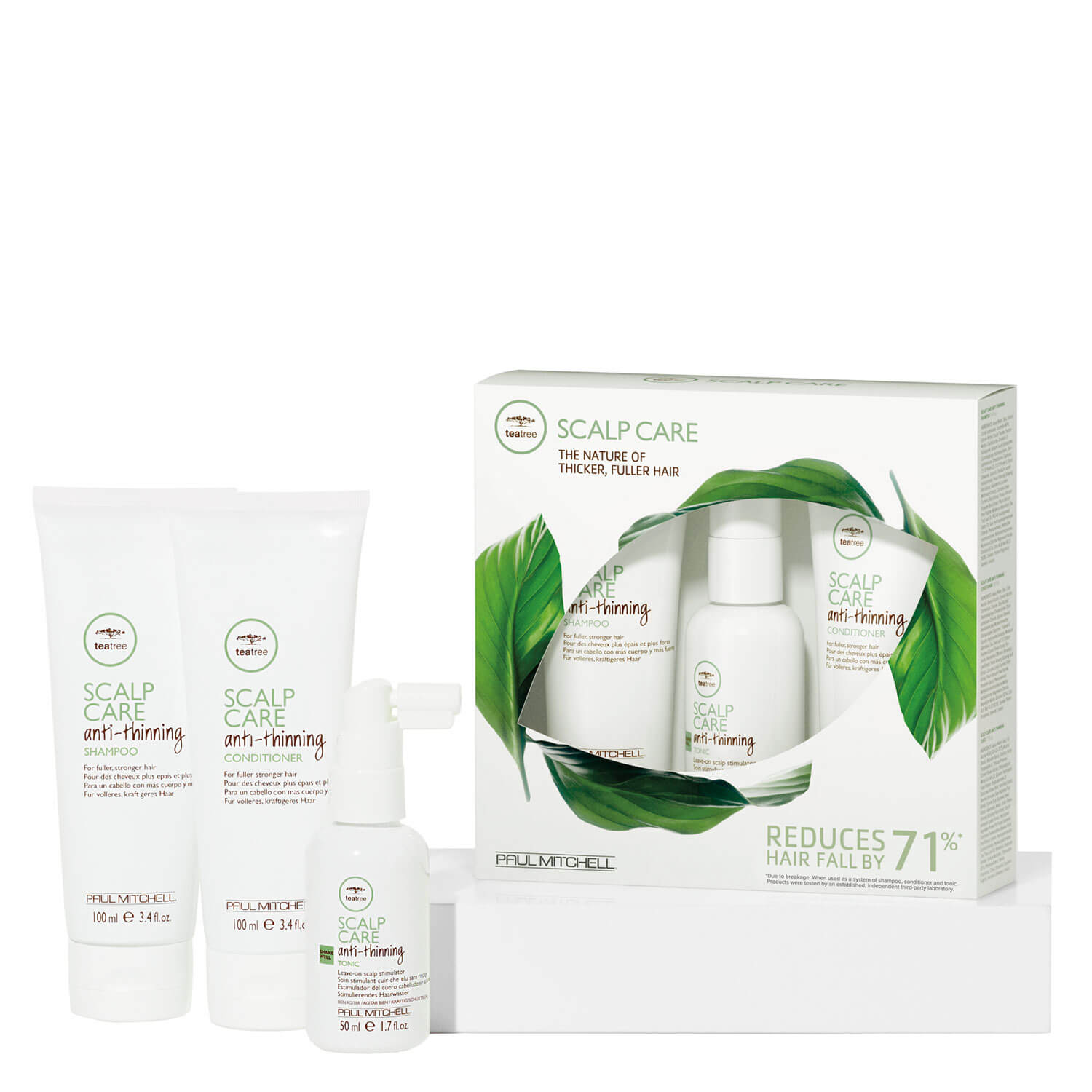 Tea Tree Scalp Care - Anti-Thinning Take Home Kit