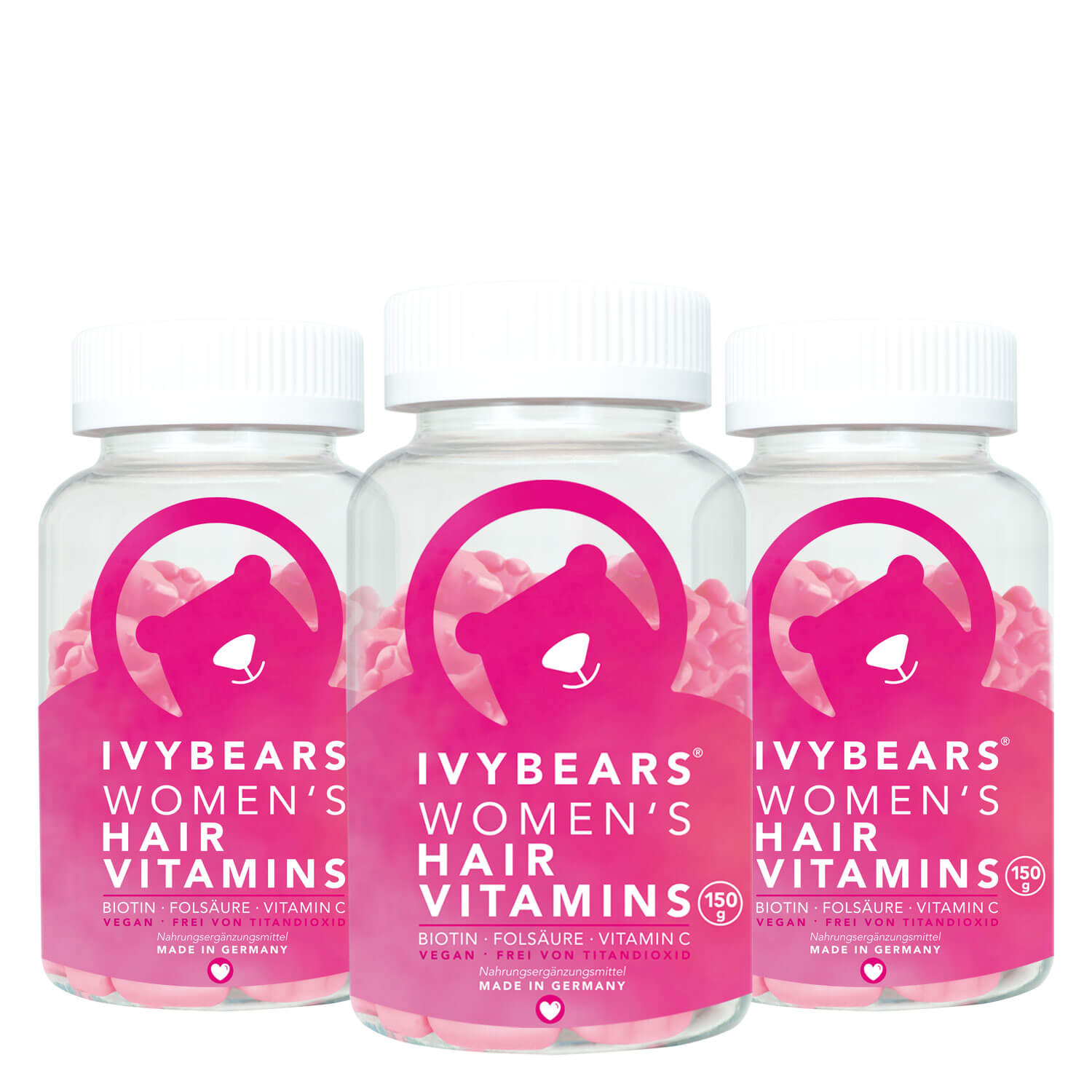 Ivybears - Women's Hair Vitamins 3 Monate