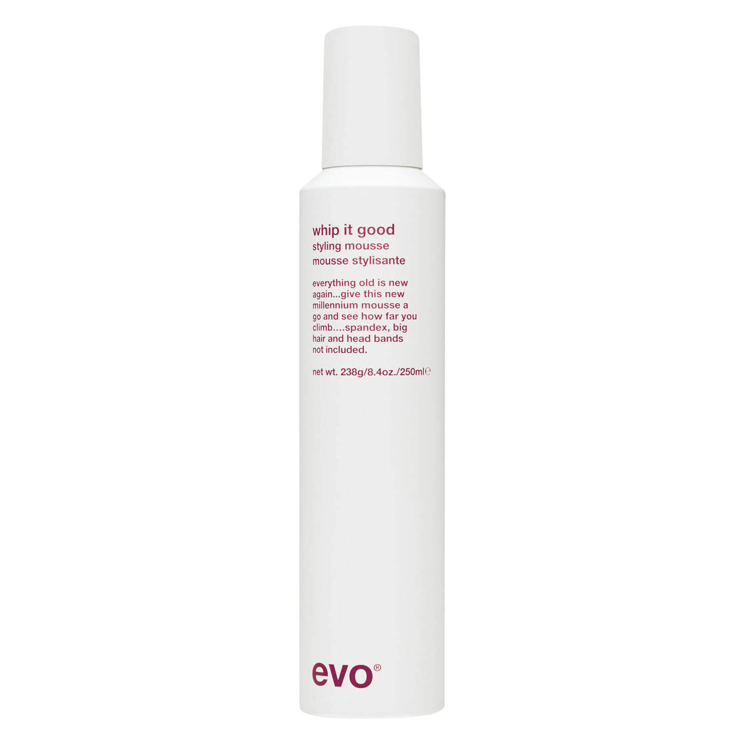 evo curl - whip it good styling mousse