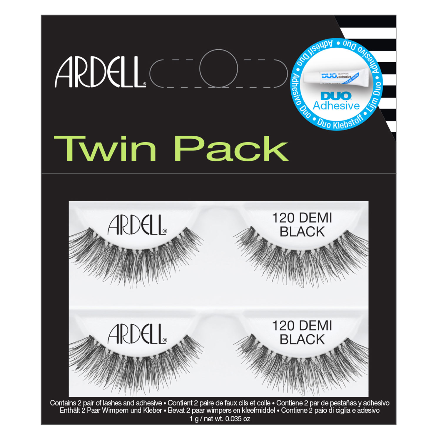 Ardell False Lashes - Twin Pack Lashes 120