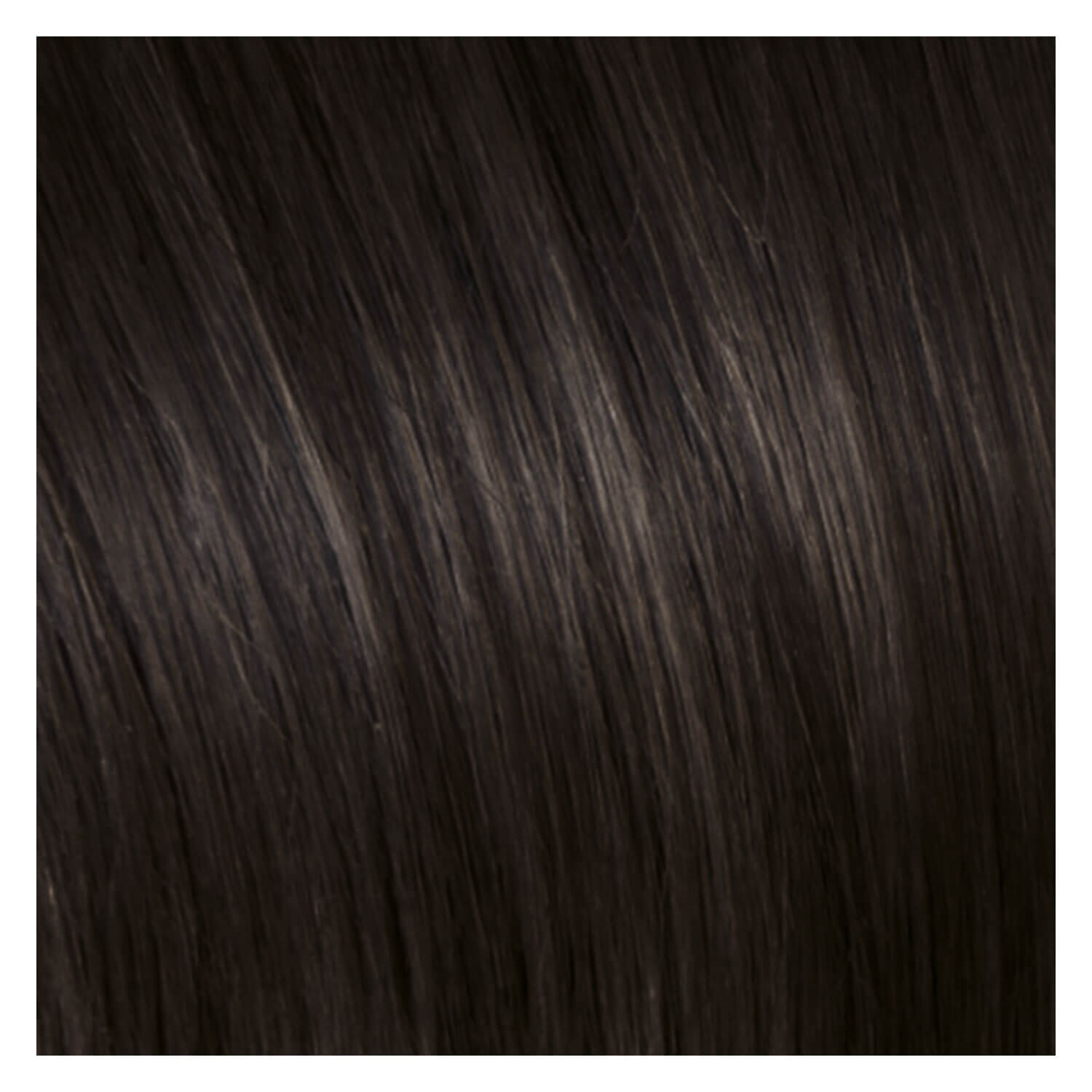 SHE Clip In-System Hair Extensions - 4 Kastanienbraun 50/55cm