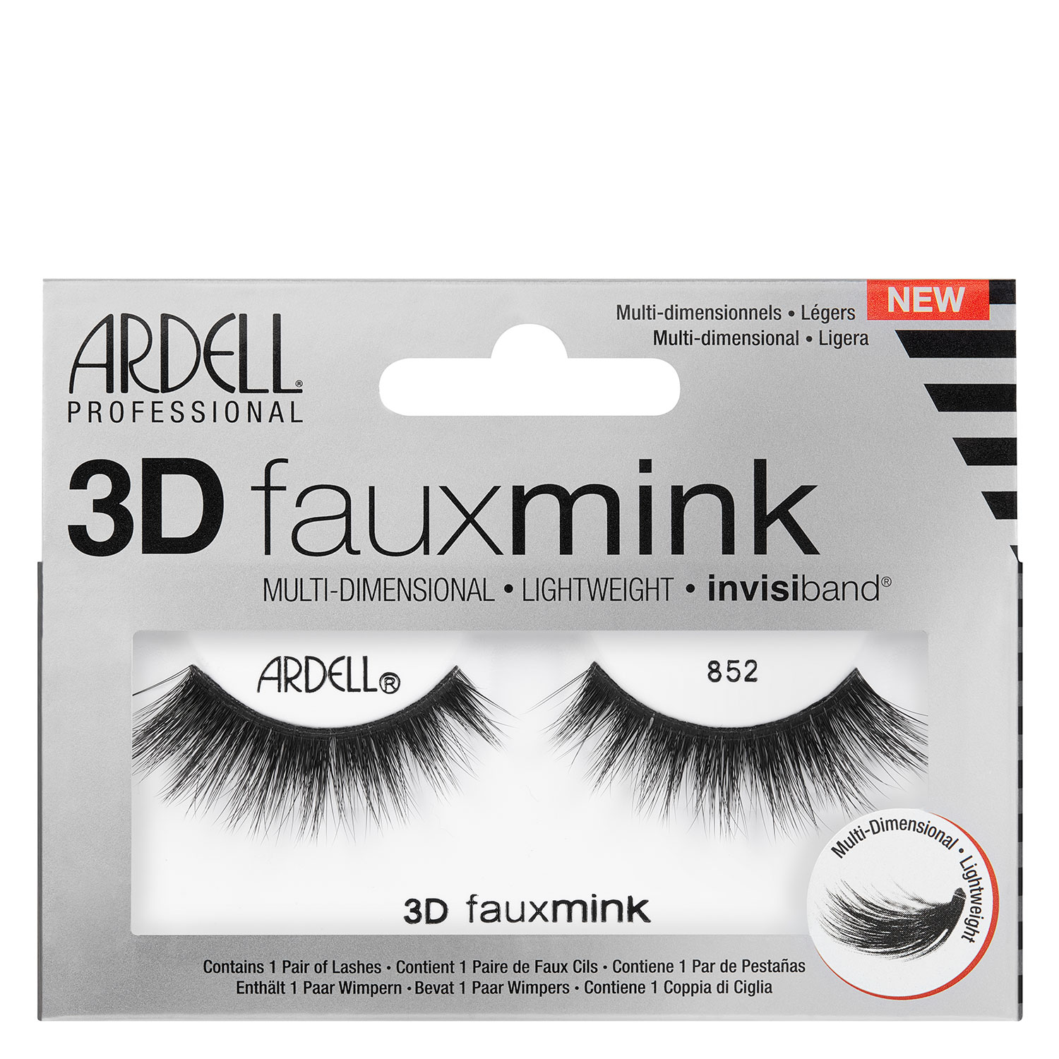 Ardell False Lashes - 3D Faux Mink 852