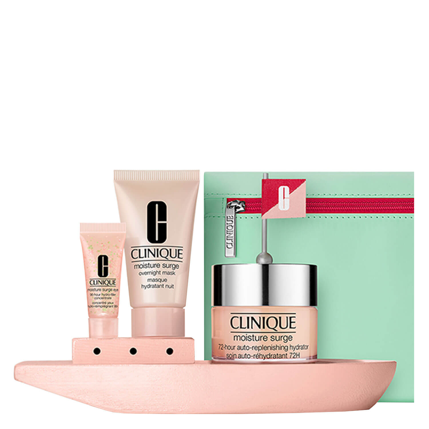 Clinique Set - Moisture Surge 72H Auto-Replenishing Hydrator Collection